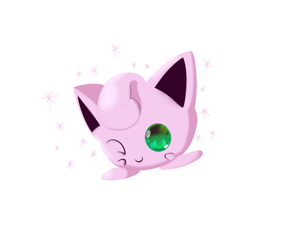 Shiny Jigglypuff by Chaomaster1