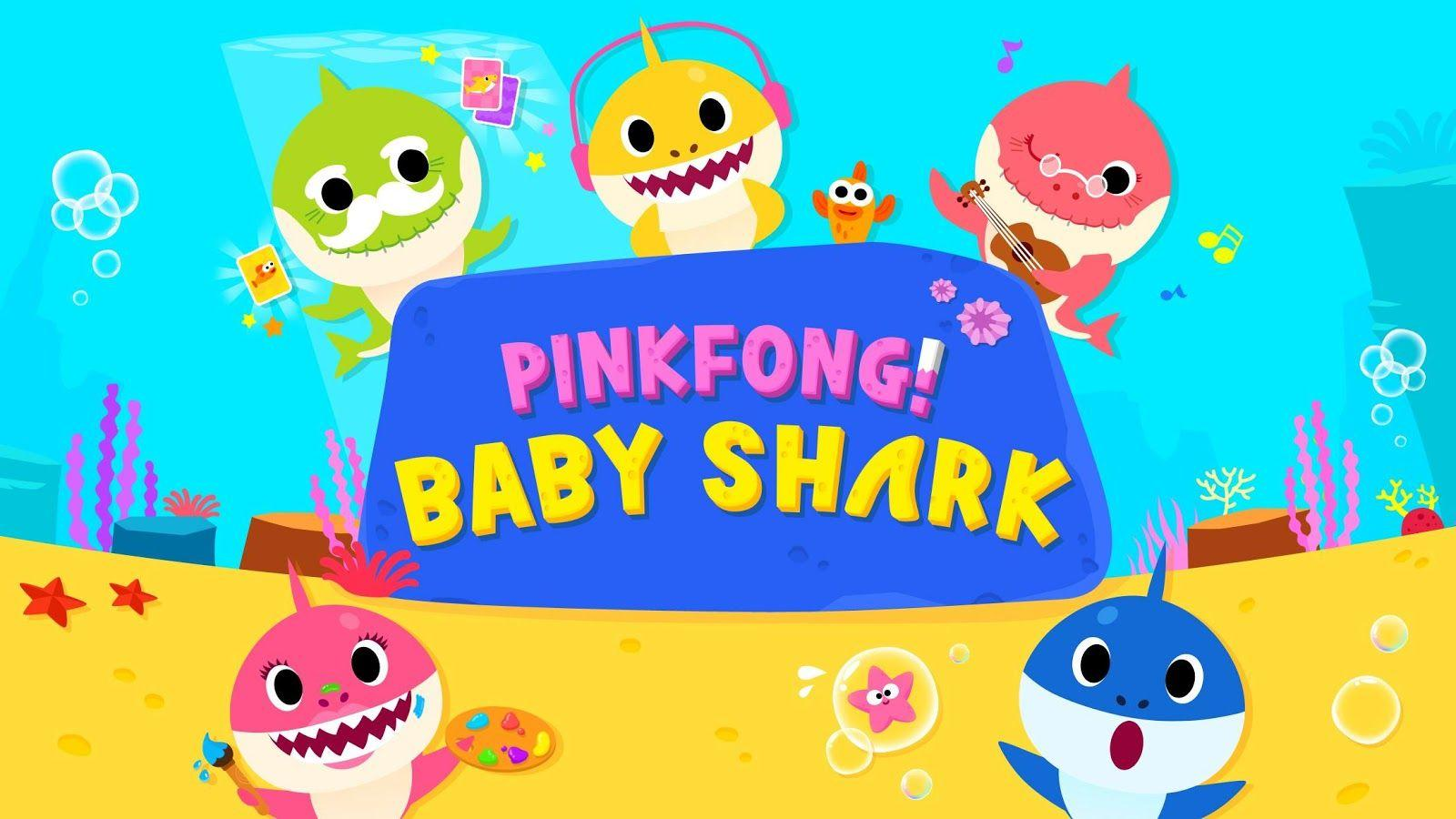 Baby Shark Wallpapers Wallpaper Cave