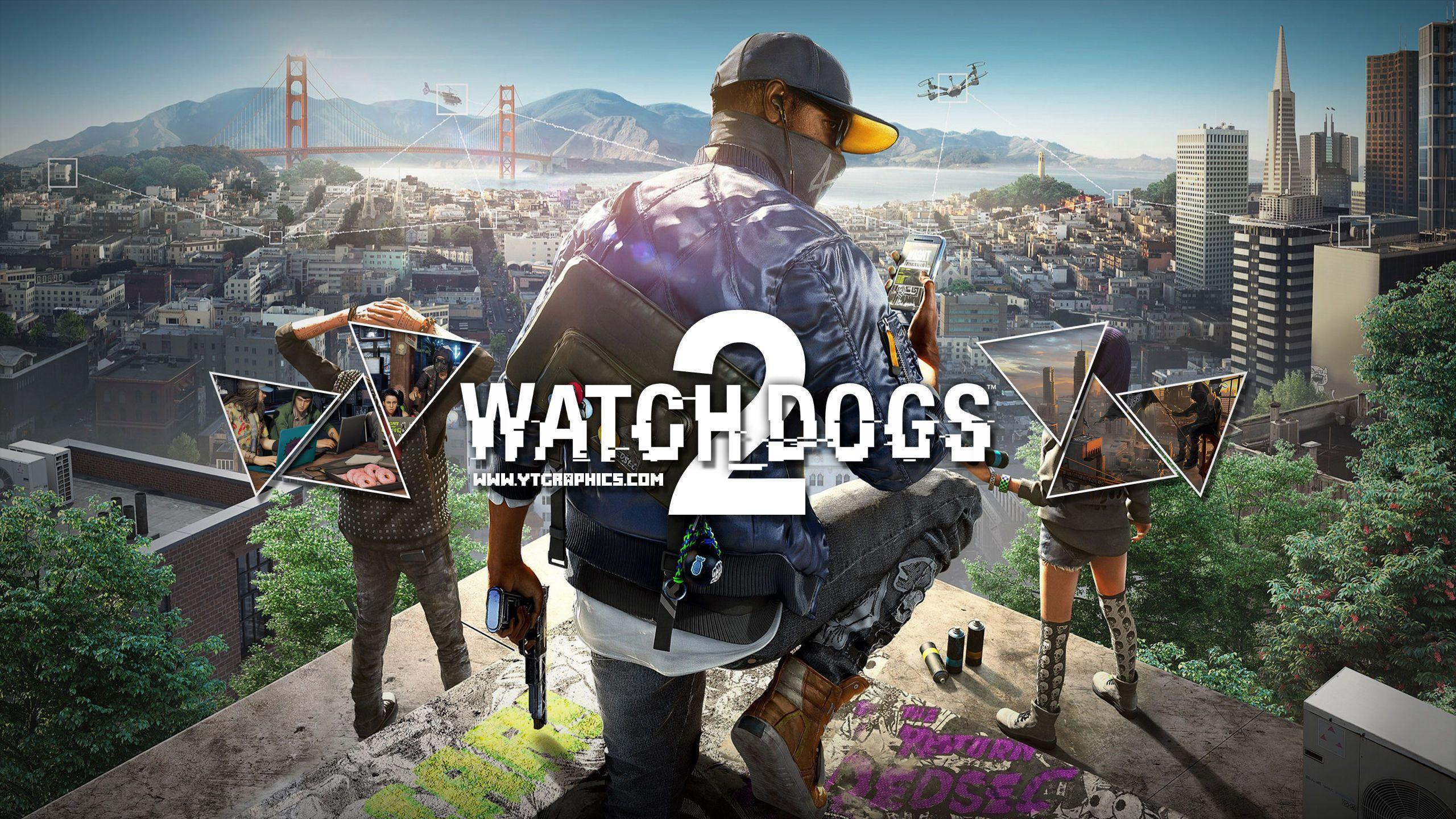 Watch Dogs 2 Video Game Wallpapers Wallpaper Cave