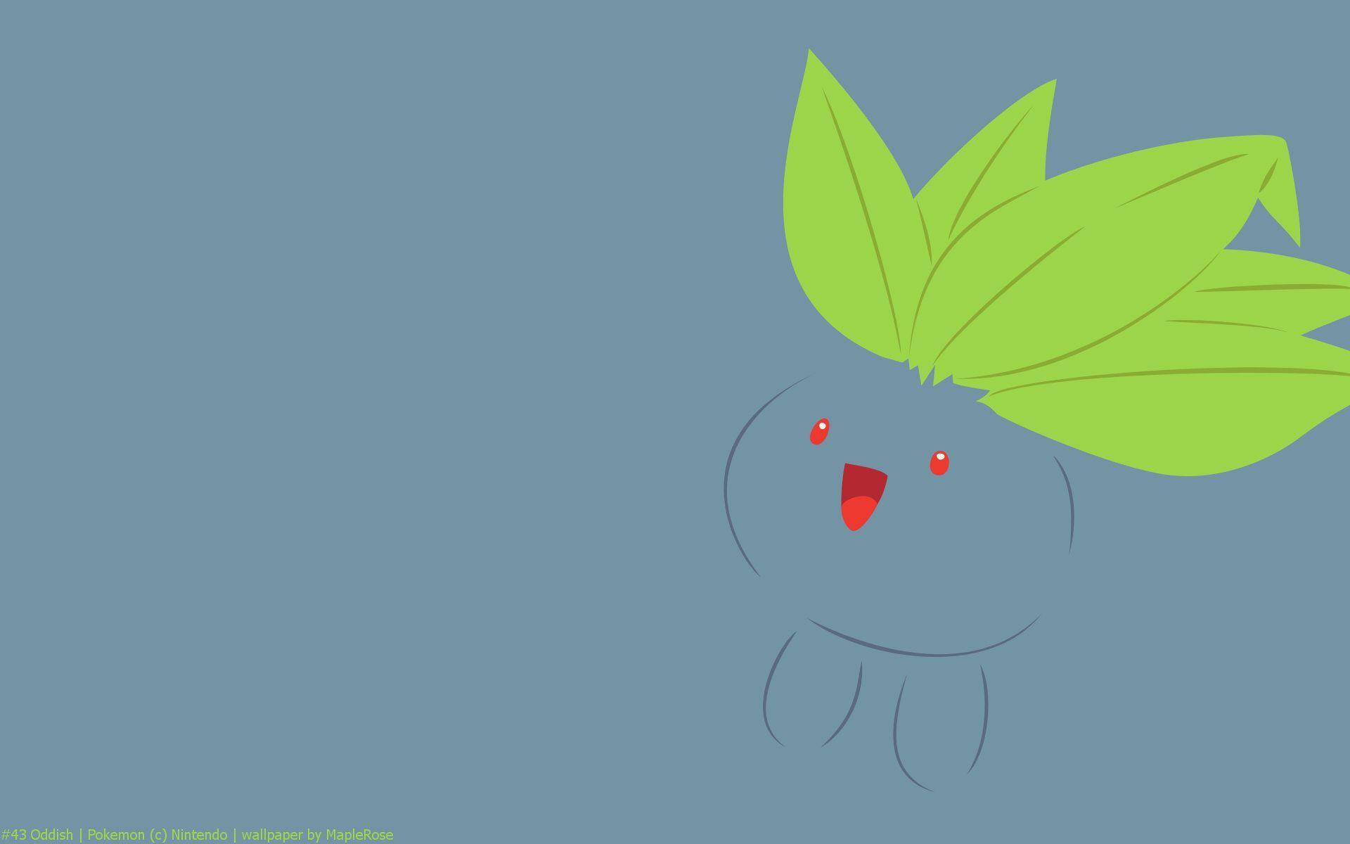 Oddish Pokemon HD Wallpaper - Free HD wallpapers, Iphone, Samsung ...