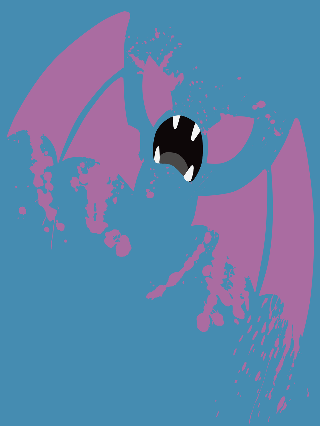 Zubat shirt by scribble