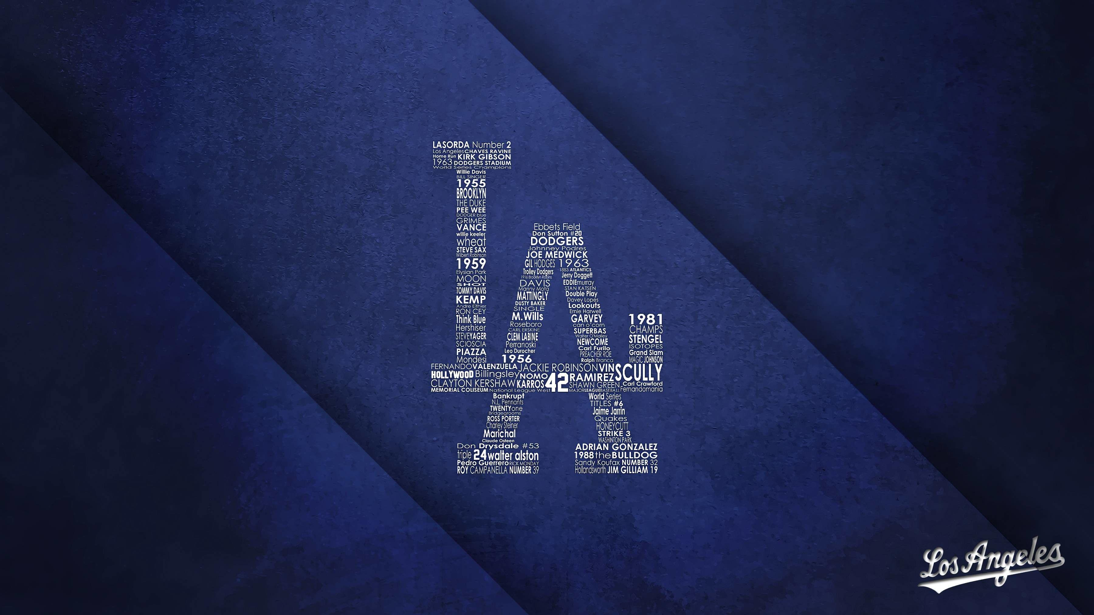 La Dodgers Wallpapers Wallpaper Cave