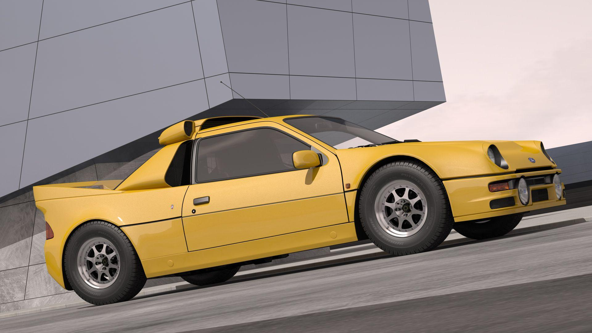 Ford RS200 Wallpapers