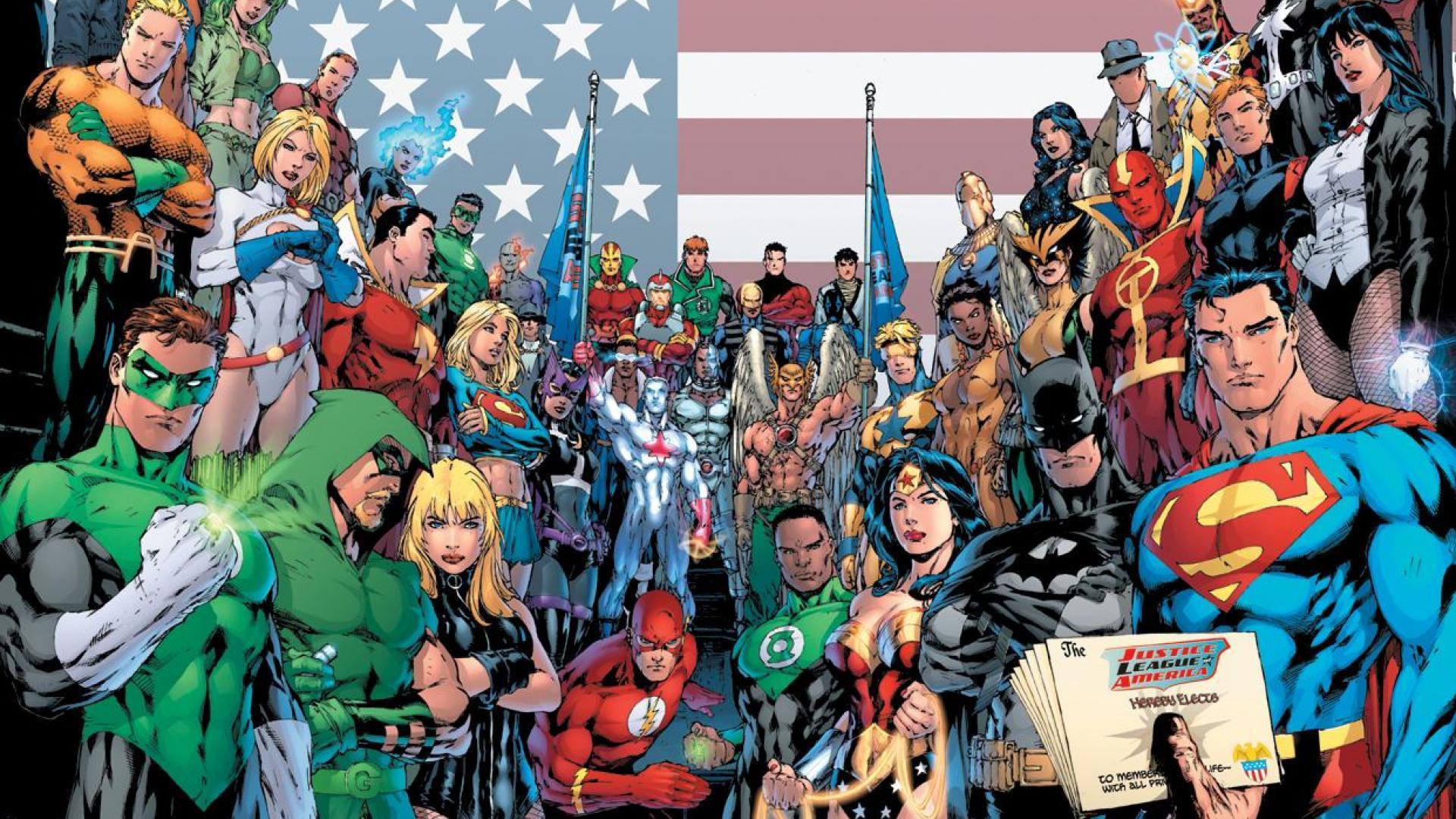 DC Heroes HD Wallpapers - Wallpaper Cave