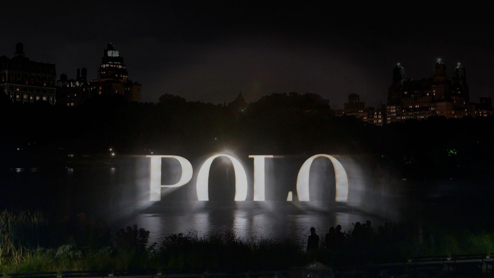POLO Ralph Lauren Holographic 4D Fashion Event: A Towering ...