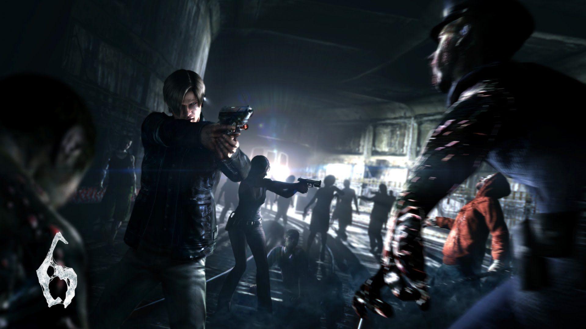 Leon Resident Evil 6 Wallpapers