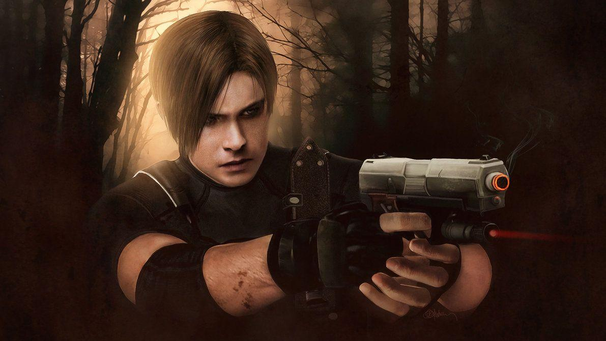 Resident evil 4, Leon Kennedy wallpapers by push
