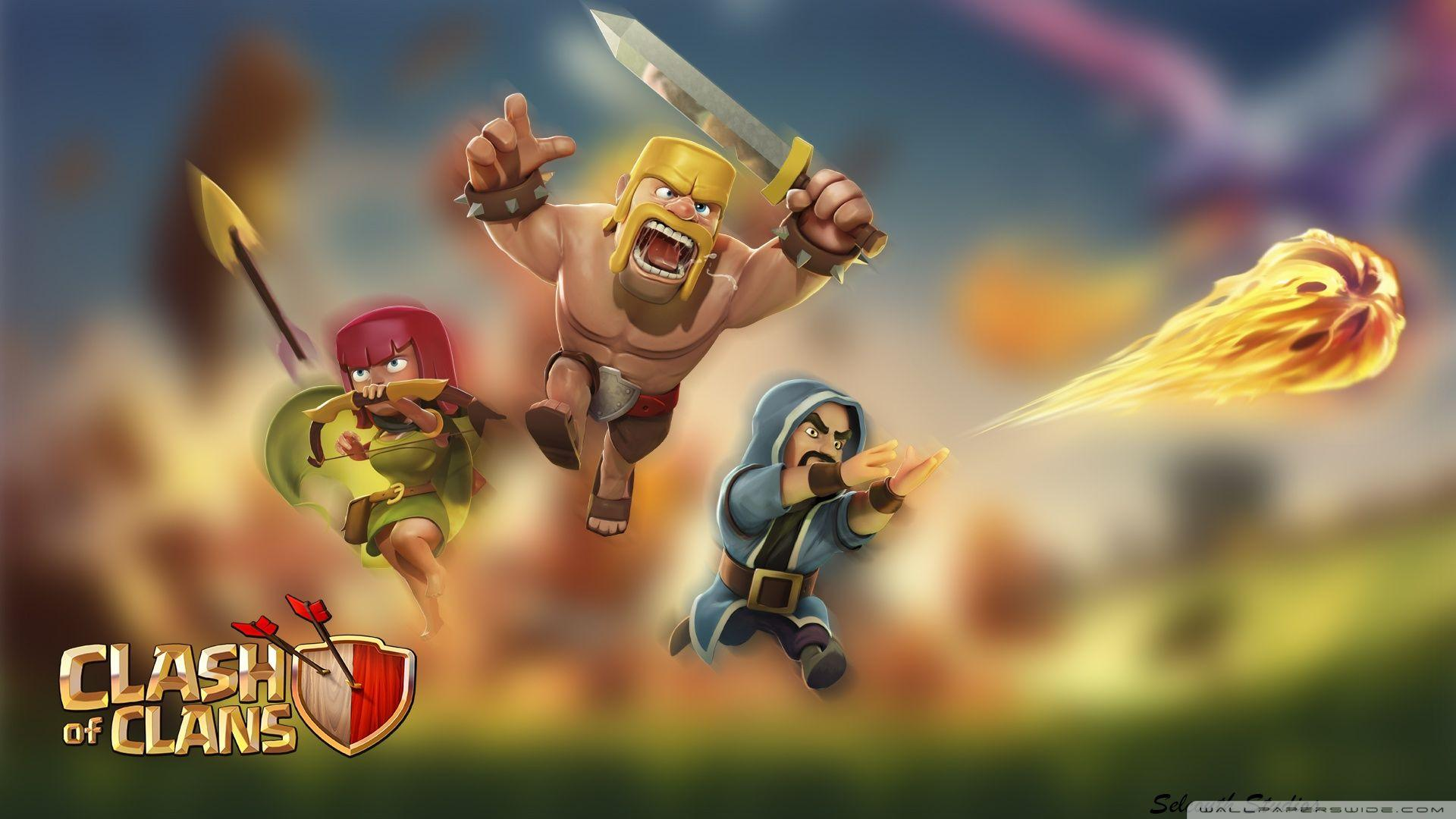 Clash Of Clans Wizard Wallpapers Wallpaper Cave