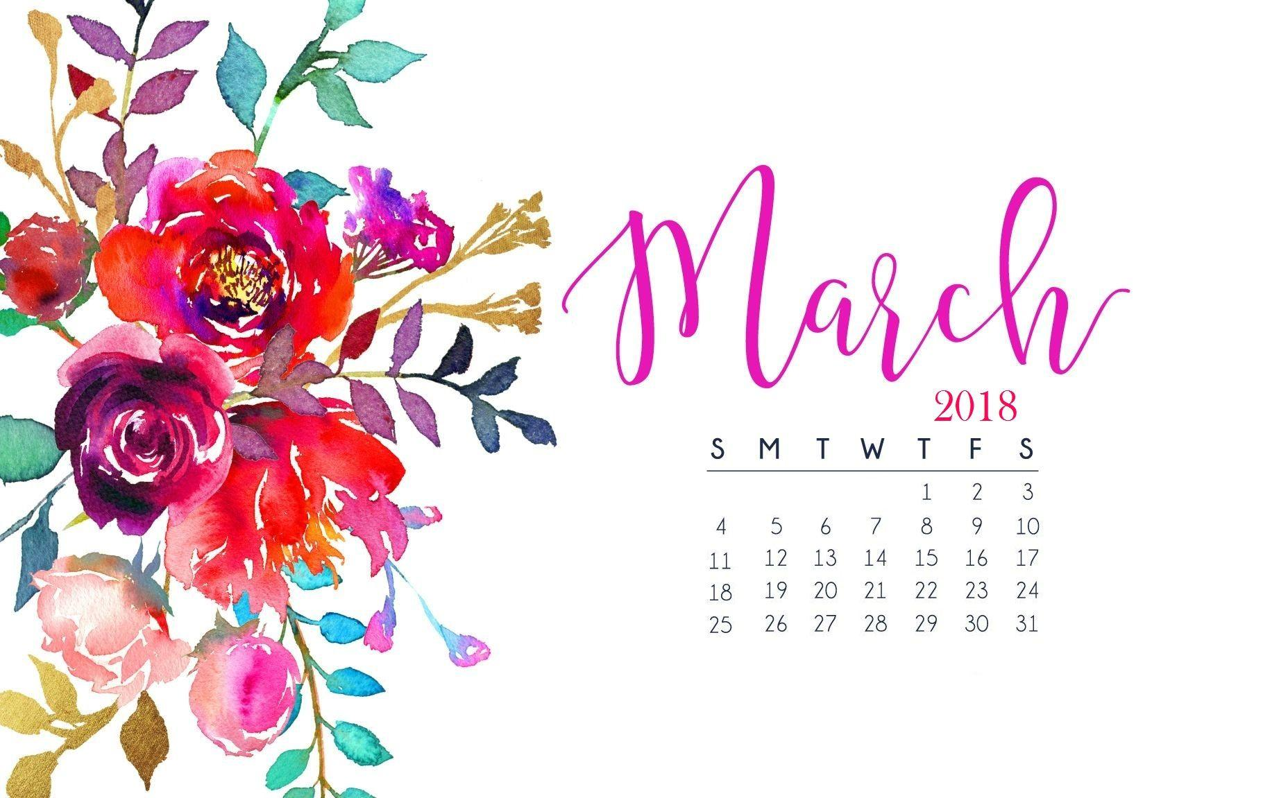 Dawn nicole january 2018 calendar wallpaper