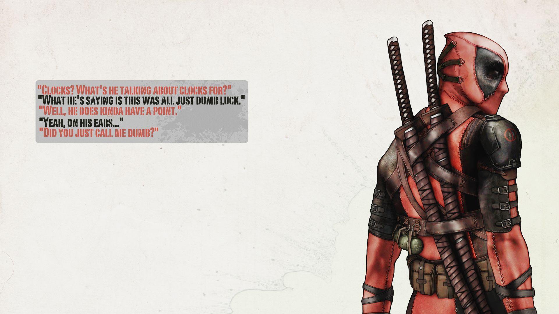Funny Deadpool Wallpapers Wallpaper Cave