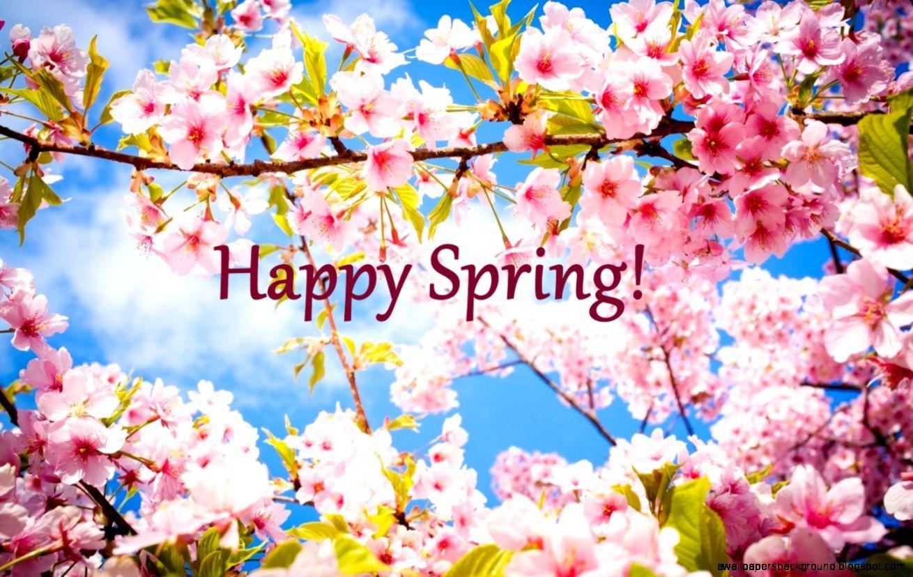 Happy First Day Of Spring | Wallpapers Background