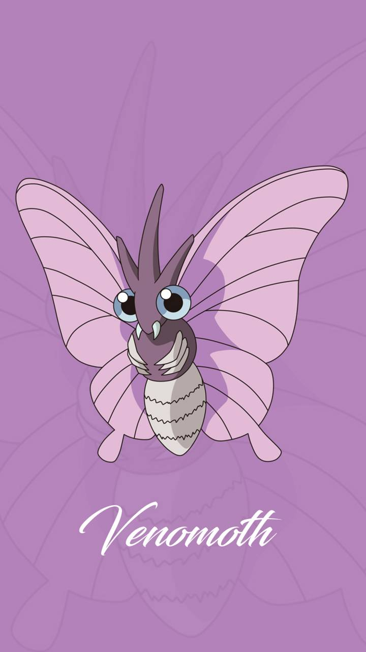 Venomoth wallpapers by PnutNickster