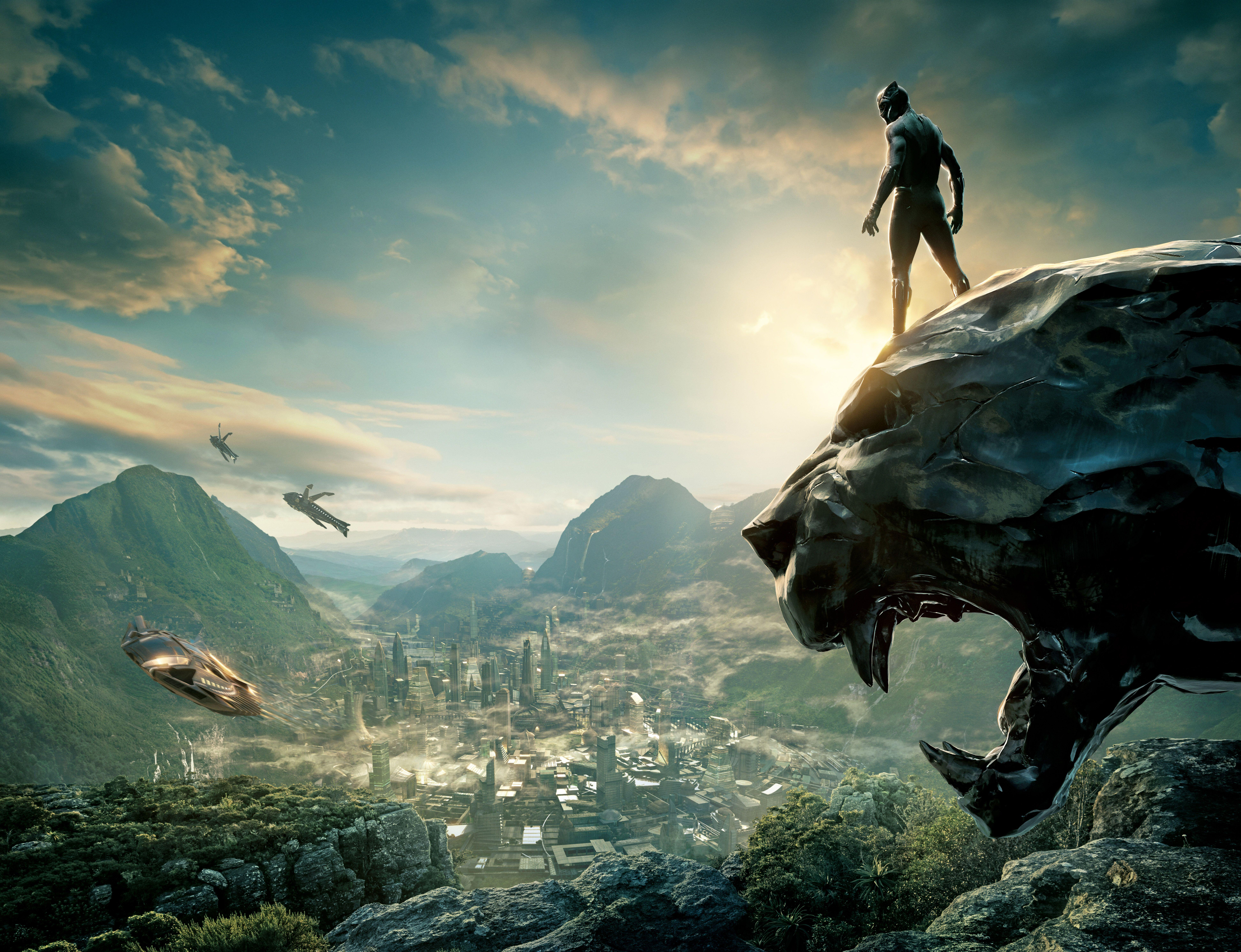Black Panther Movie Wallpapers Wallpaper Cave