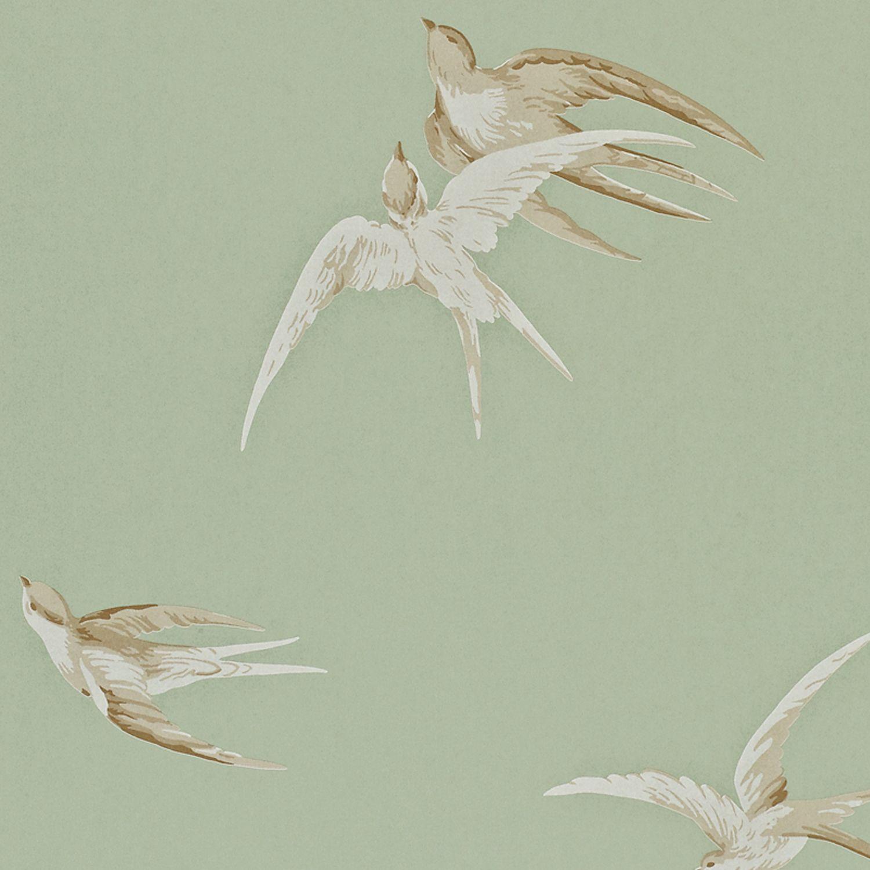 Heal's | Sanderson Swallows Wallpaper - Wallpaper - Wallpaper .
