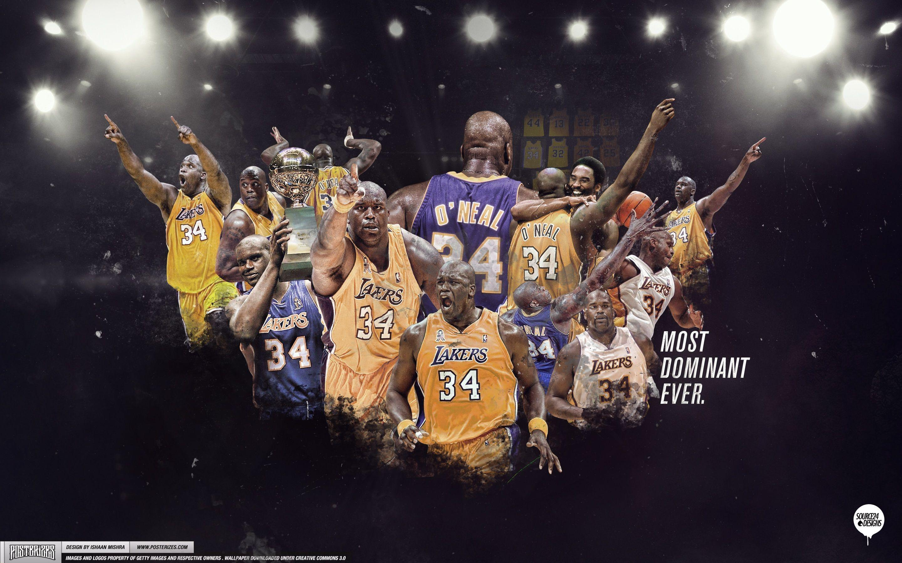 Shaquille O'neal Lakers Wallpapers