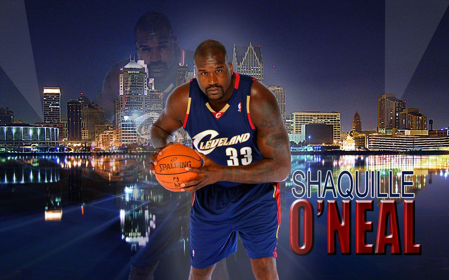 Shaquille O'Neal Cavaliers Widescreen Wallpapers