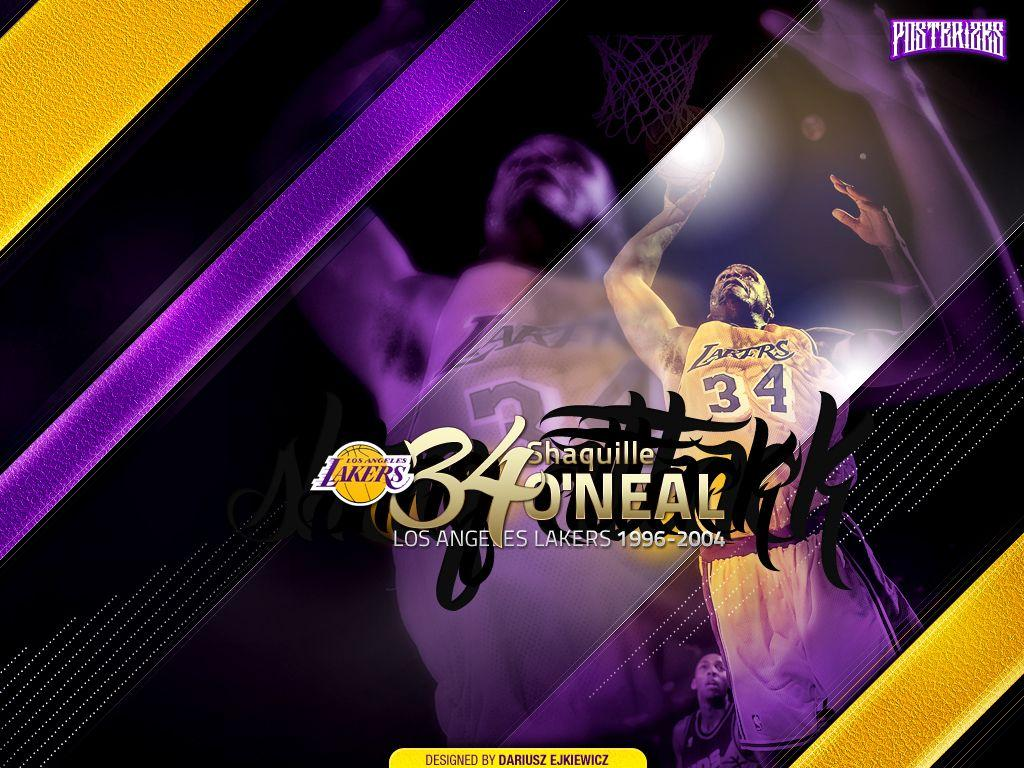 "Shaquille O'Neal ""Legends"" Wallpapers"