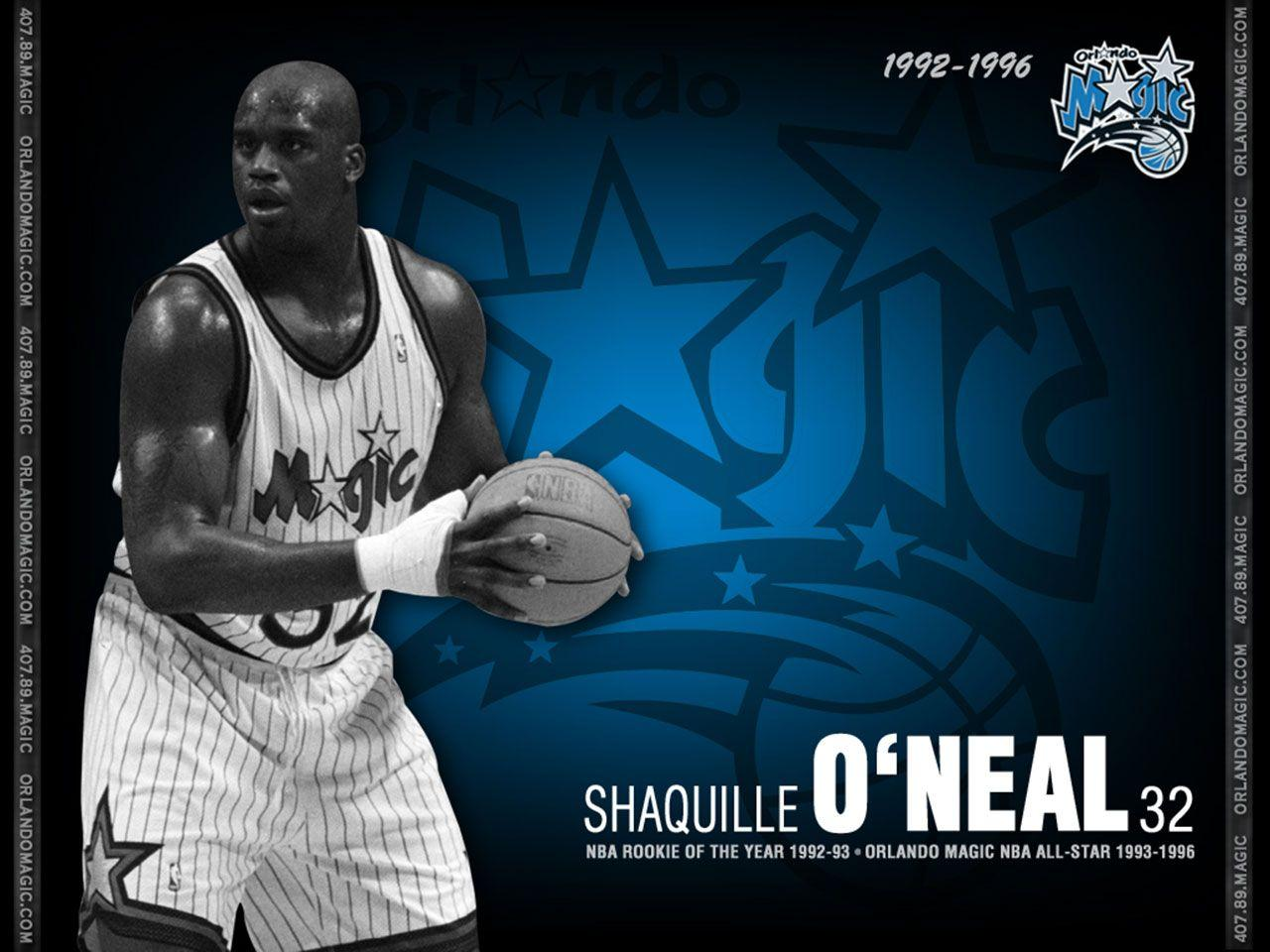 Shaquille O'Neal Professional Basketball Player : Basketball