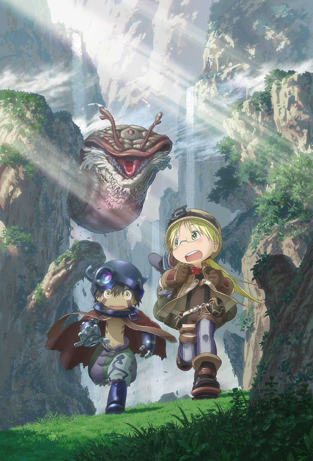 Promotional Video, Key Visuals, and Main Cast of 'Made in Abyss