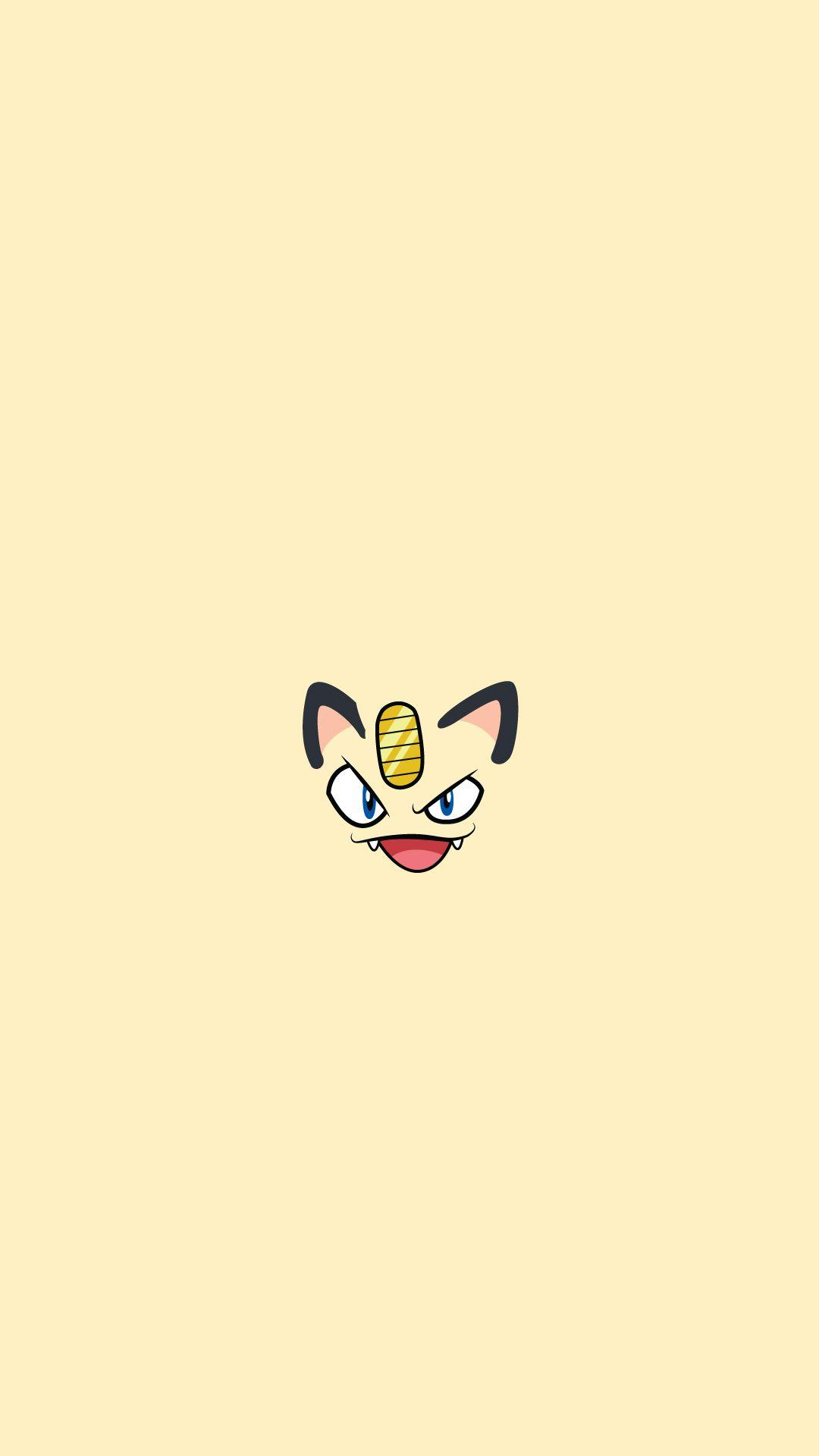 Meowth Pokemon Character iPhone 6+ HD Wallpapers HD