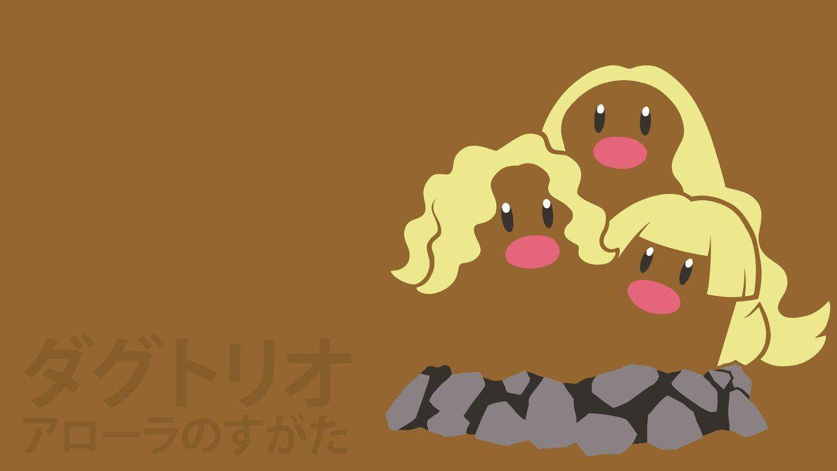 Alolan Dugtrio by DannyMyBrother on DeviantArt