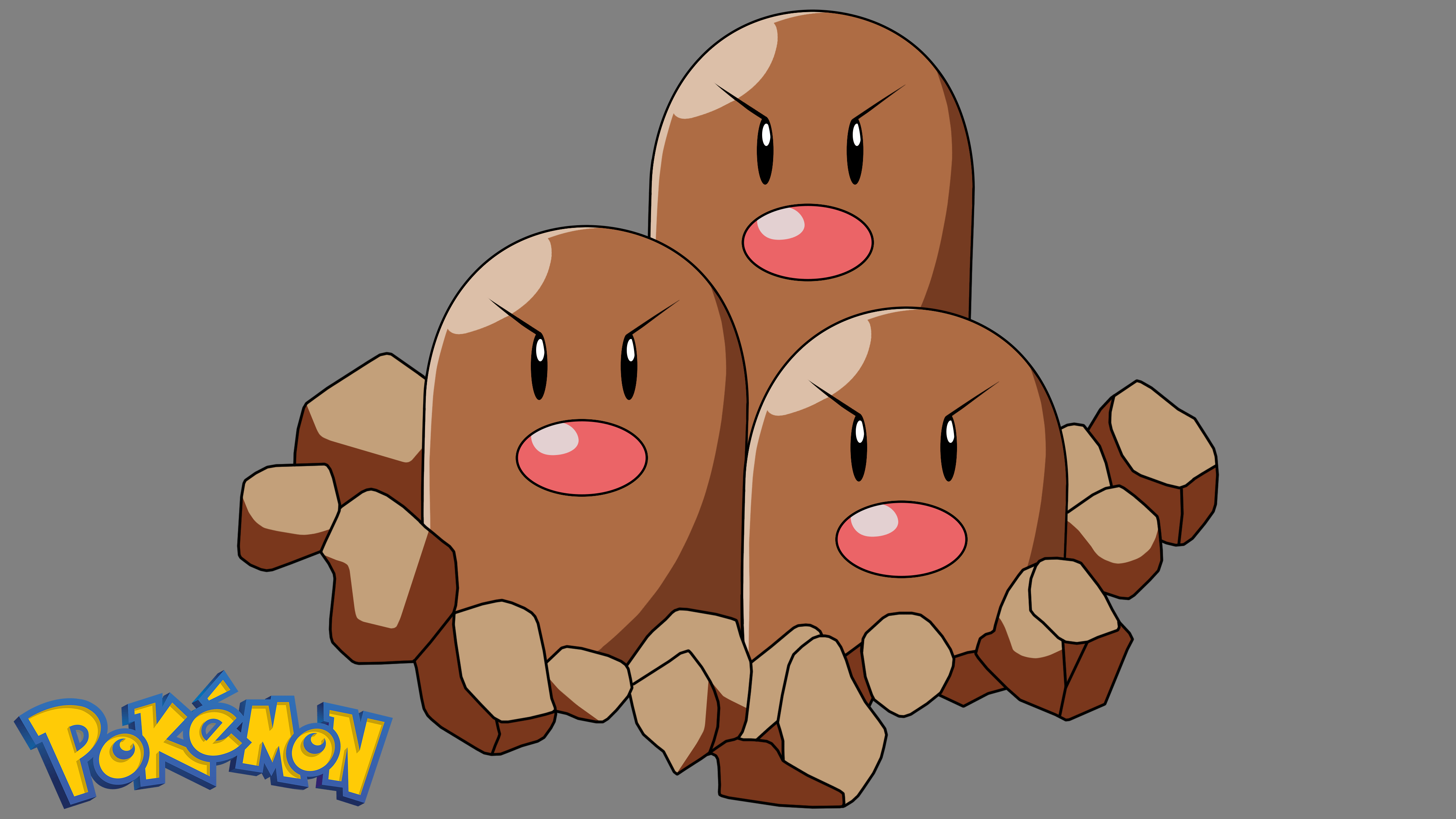 Pokemon - Dugtrio #1 by Gatnne on DeviantArt