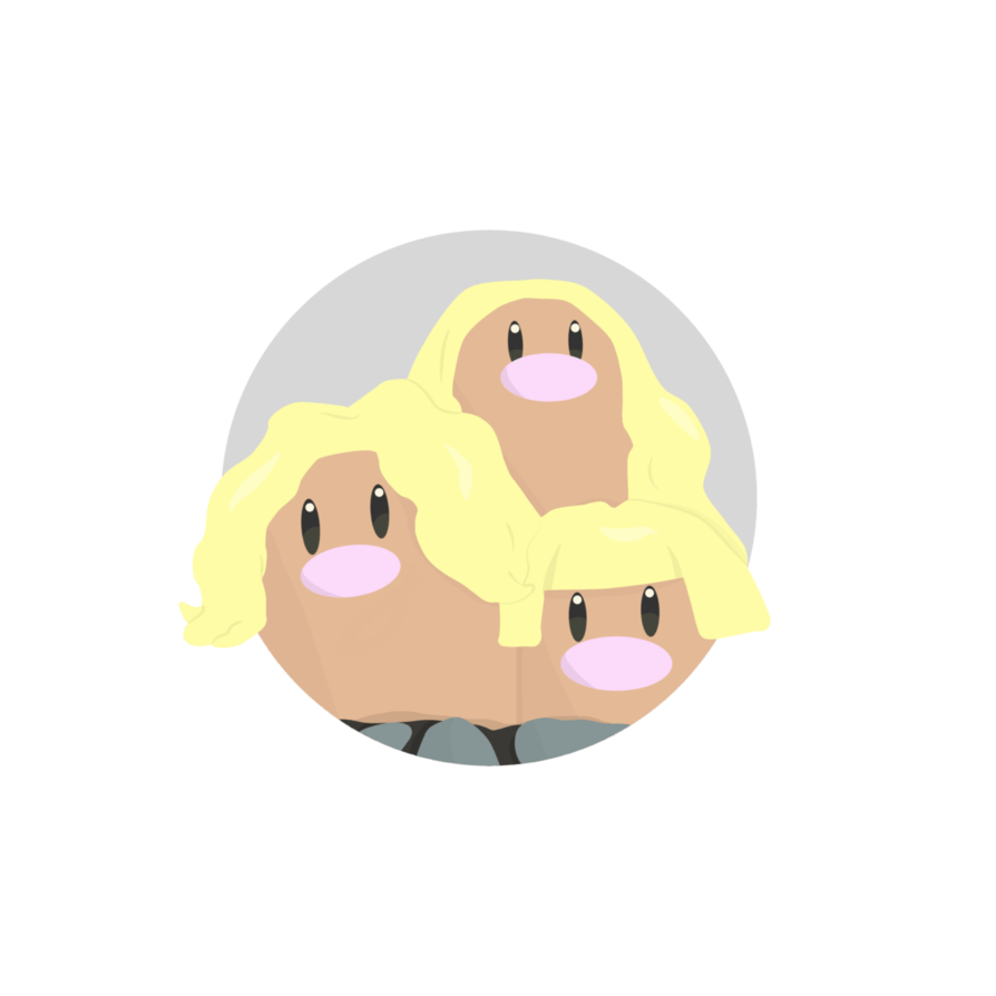 Alolan Dugtrio Icon by Alolan-Anthony on DeviantArt