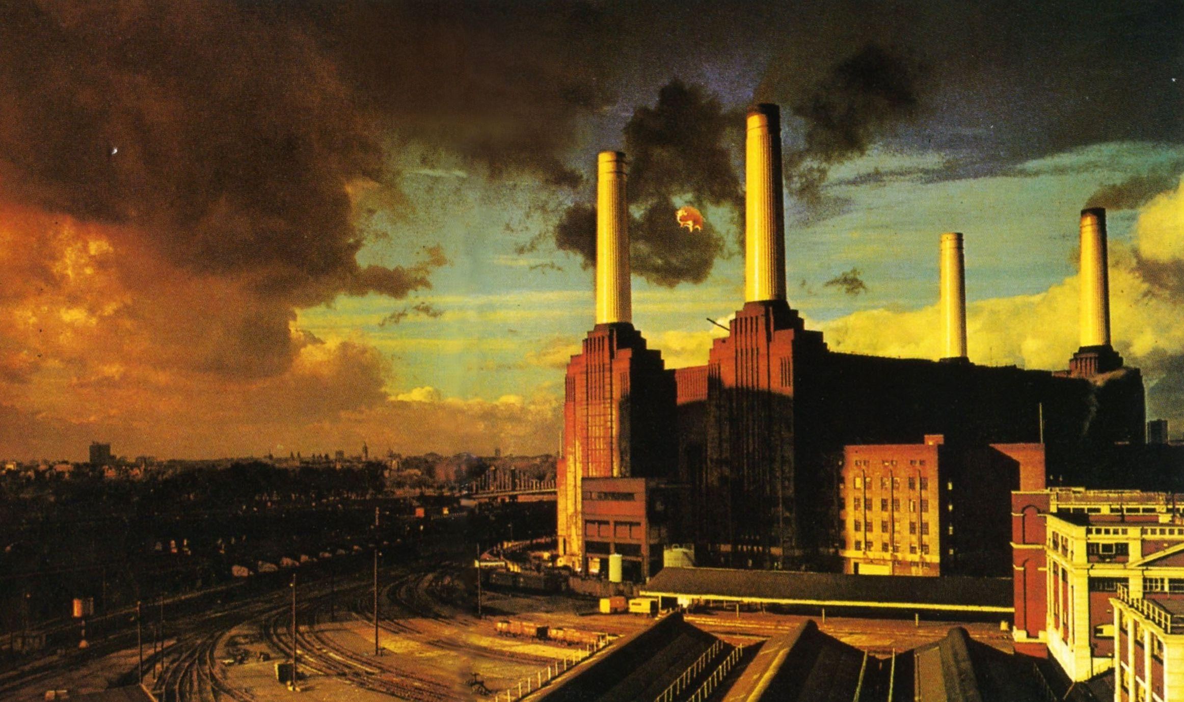 Pink Floyd Theme Pollution Factory Desktop Wallpapers