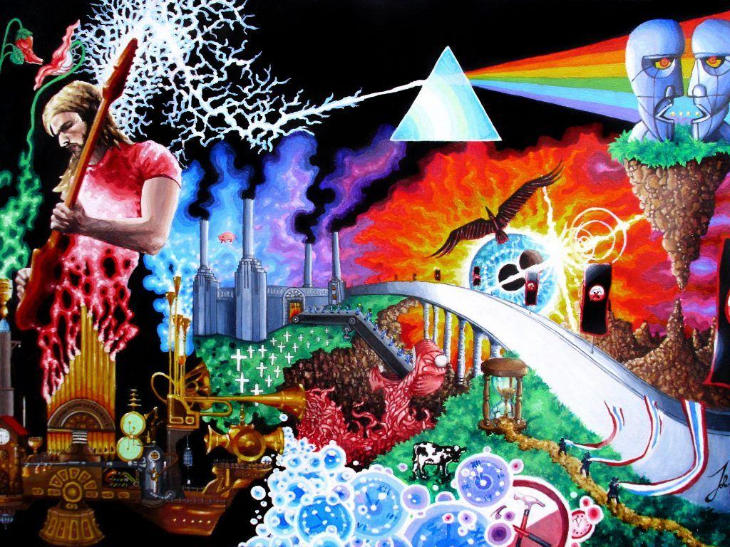 Cool Trippy Pink Floyd Wallpapers Hd YW92