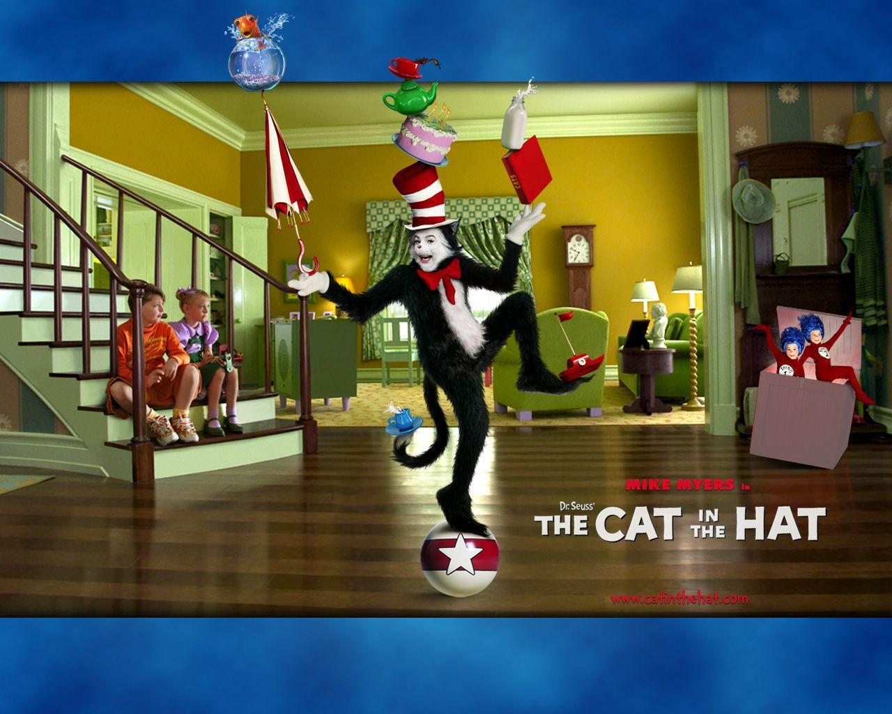 The Cat In The Hat Zoom Background 4