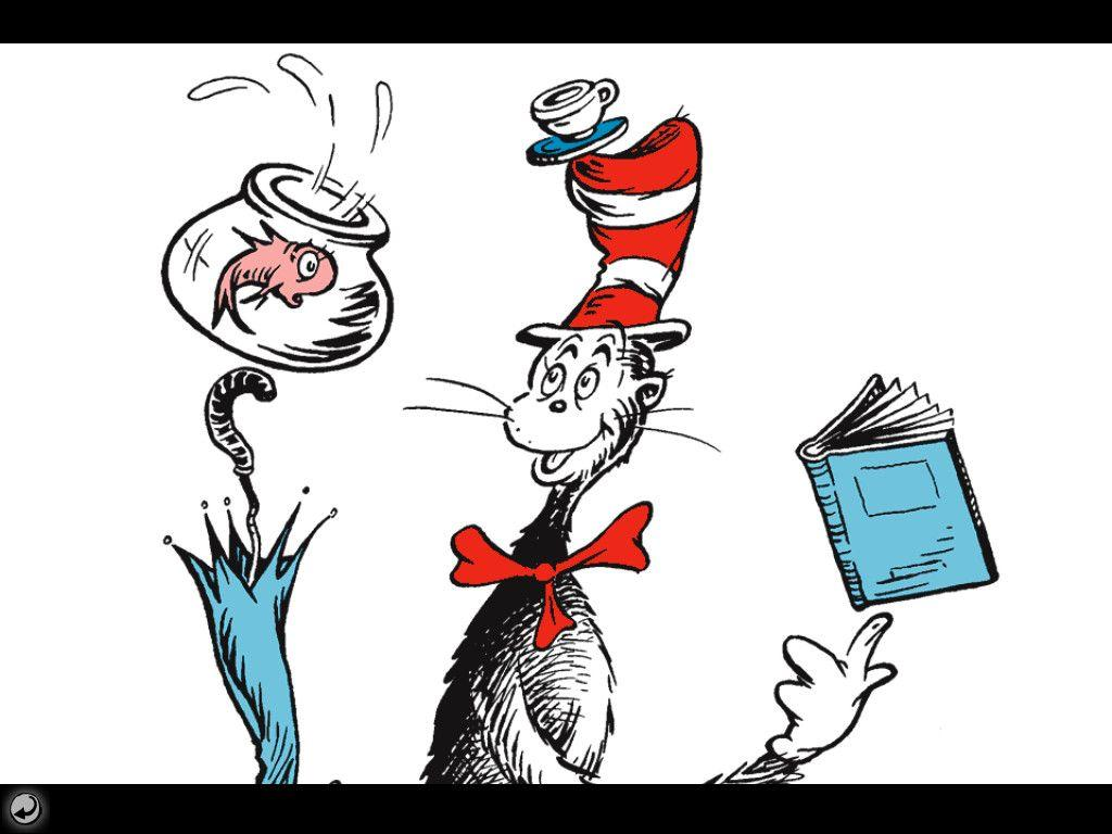 The Cat In The Hat Zoom Background 6