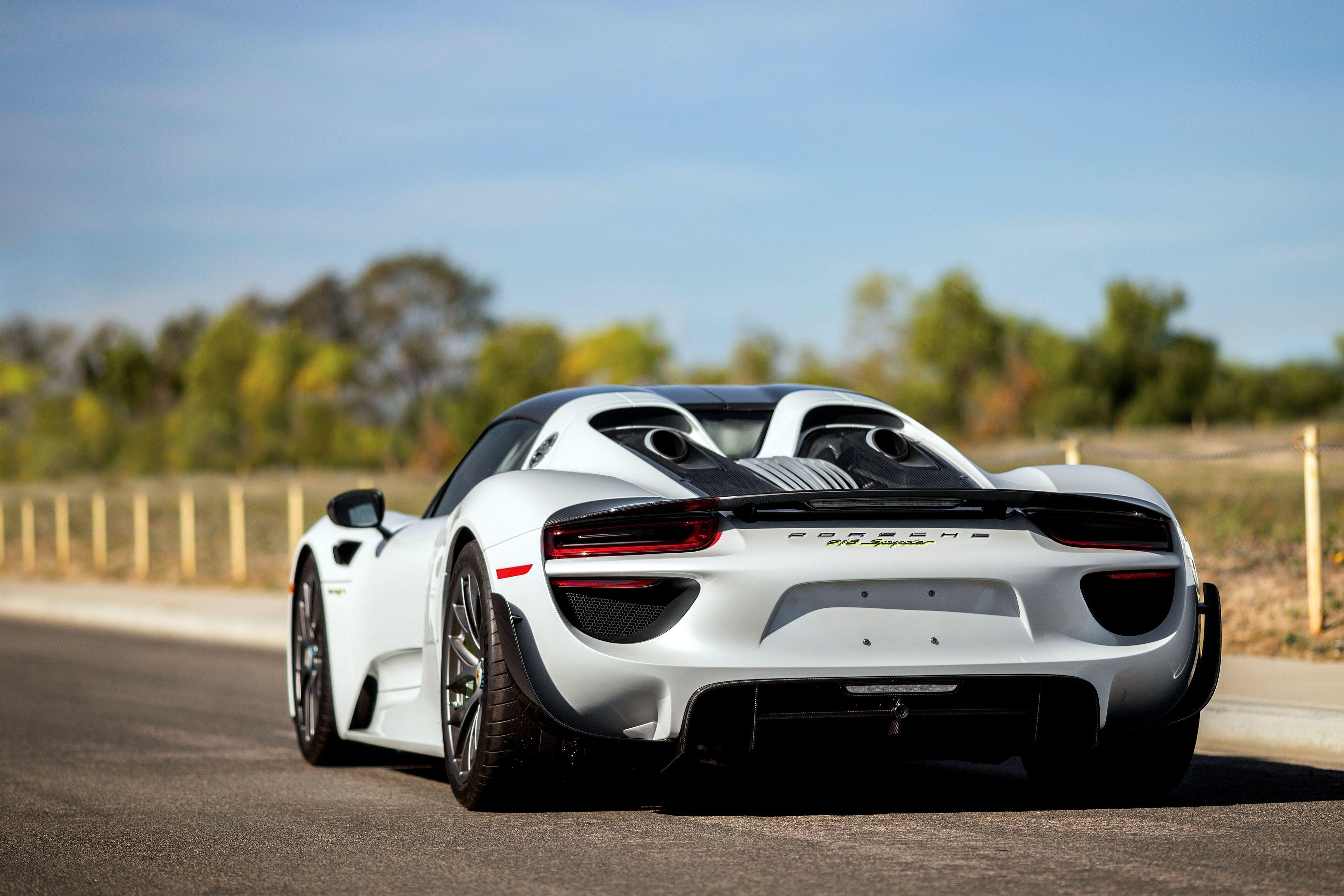 59 Porsche 918 Spyder HD Wallpapers | Background Images ...