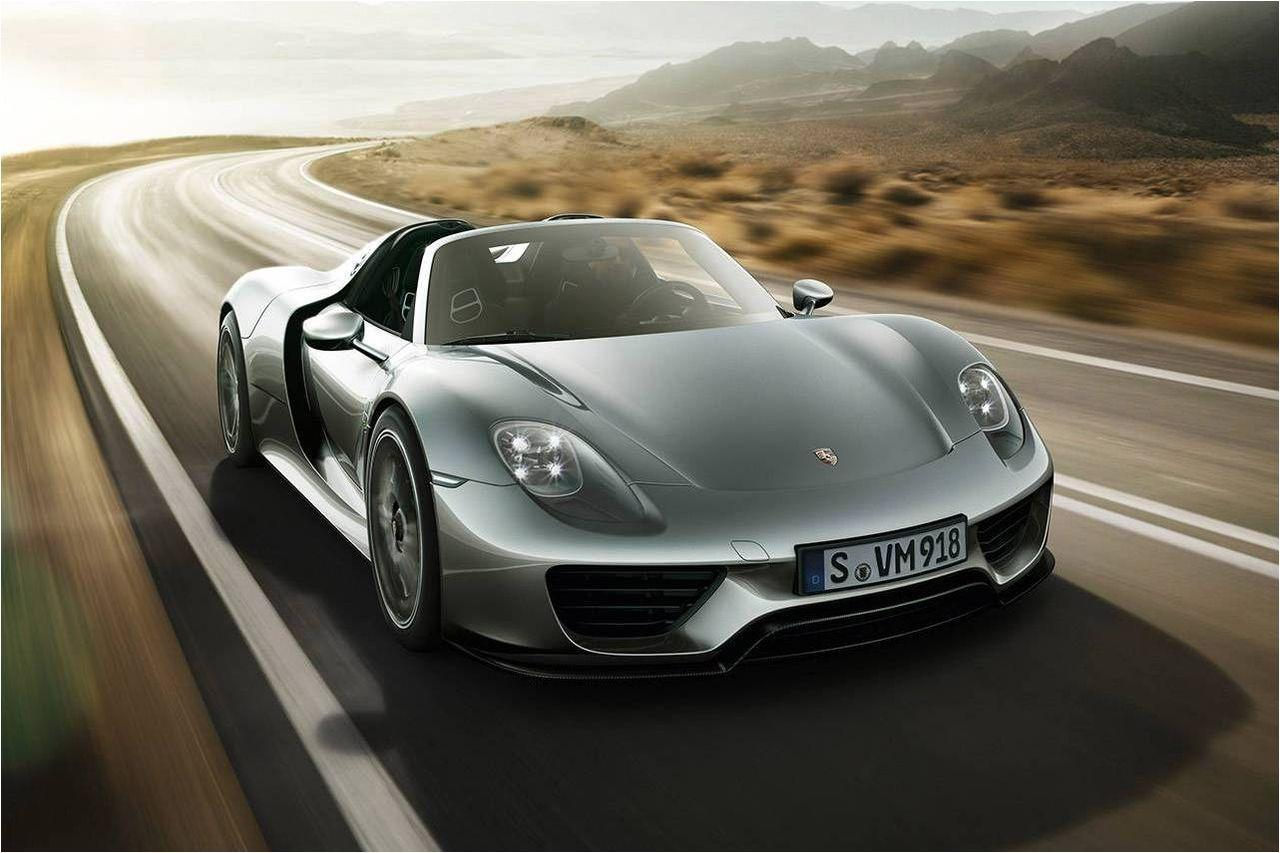 Porsche 918 Spyder Maximum Speed: 340 km/h