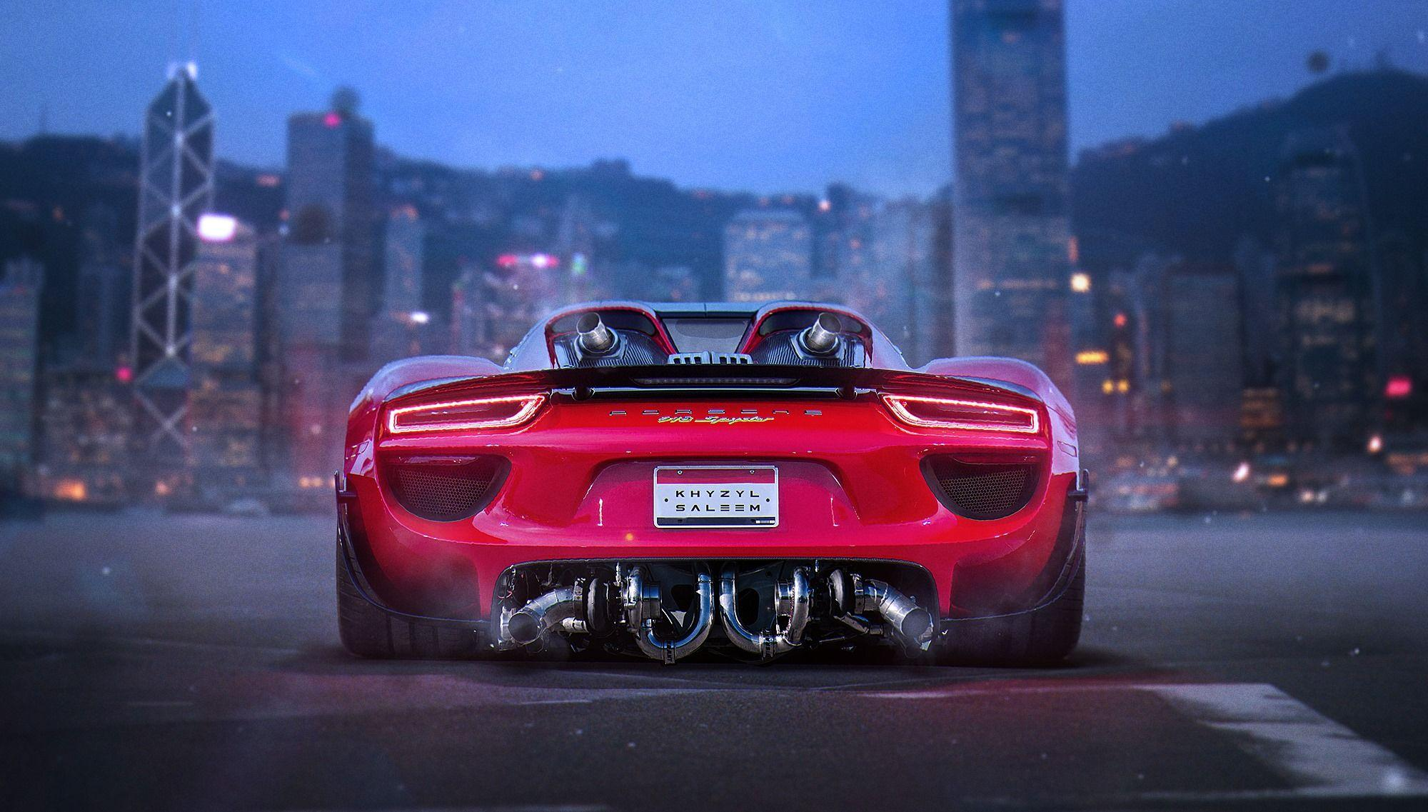 Twin-Turbo Porsche 918 Spyder Rendered, the Imaginary Facelift ...