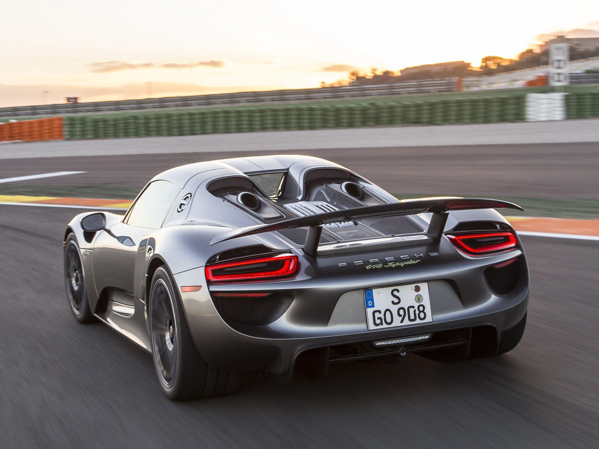 2014 Porsche 918 Spyder supercar f wallpapers