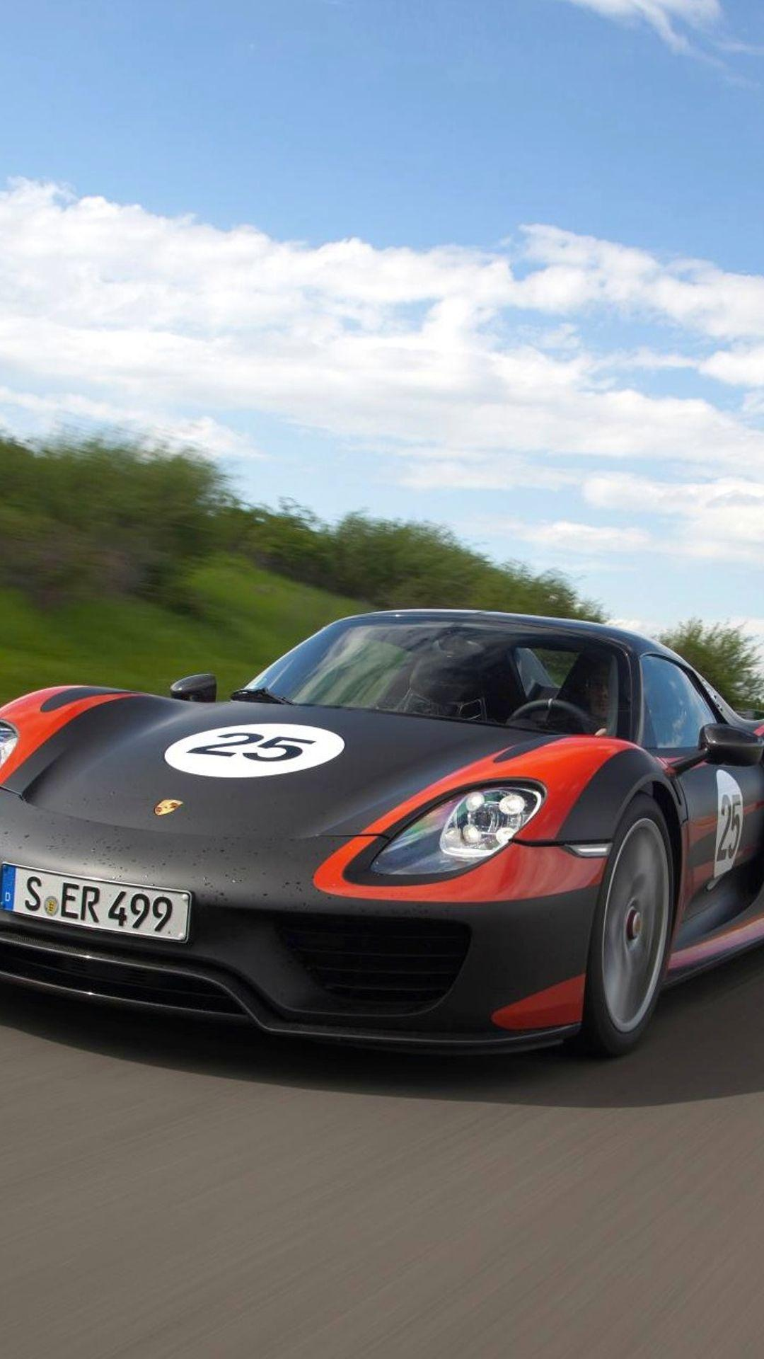 Give Your Desktop Or Mobile A Spruce WIth These Sexy Porsche 918 ...