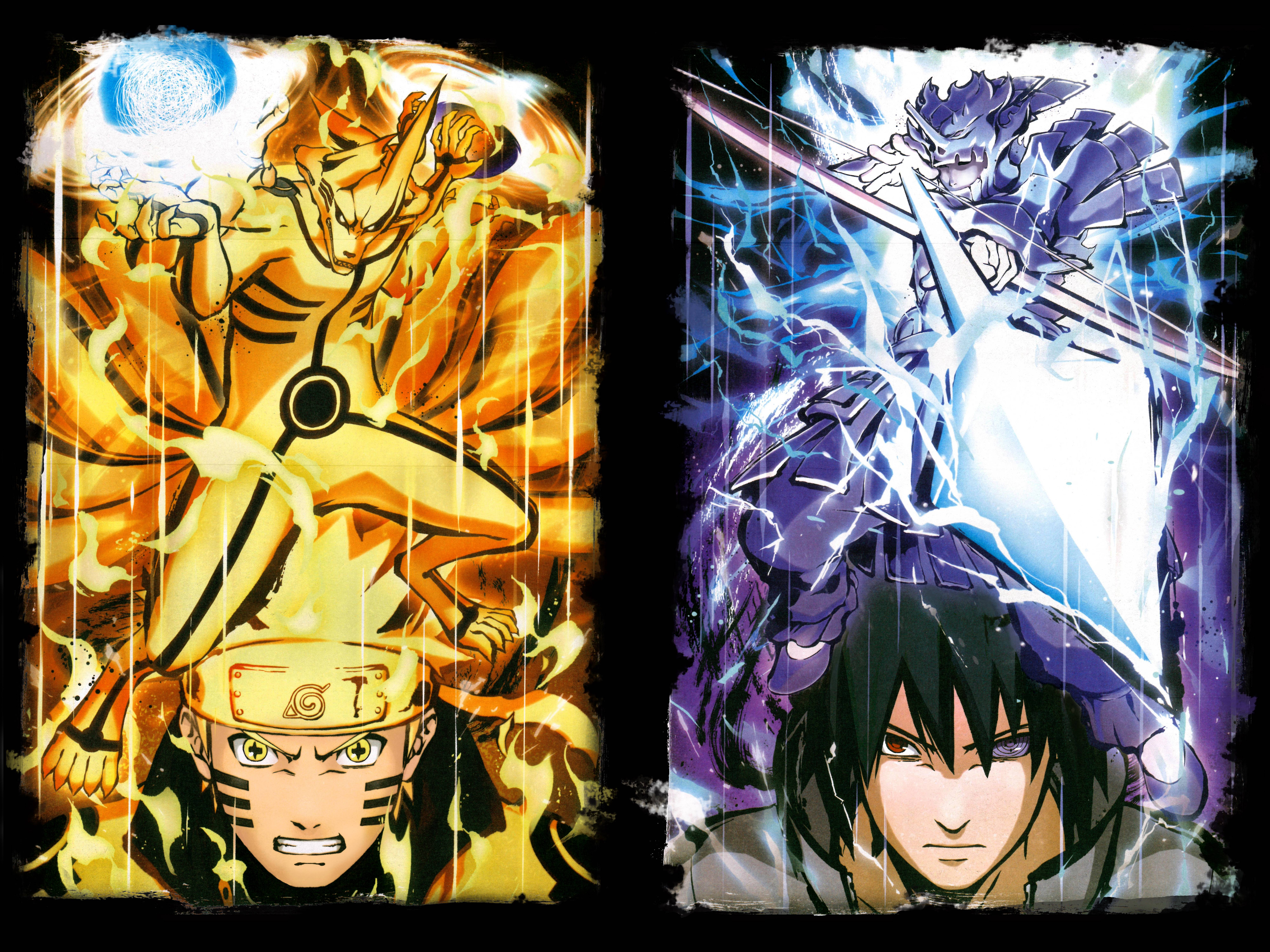 Naruto Six Paths Wallpapers Wallpaper Cave