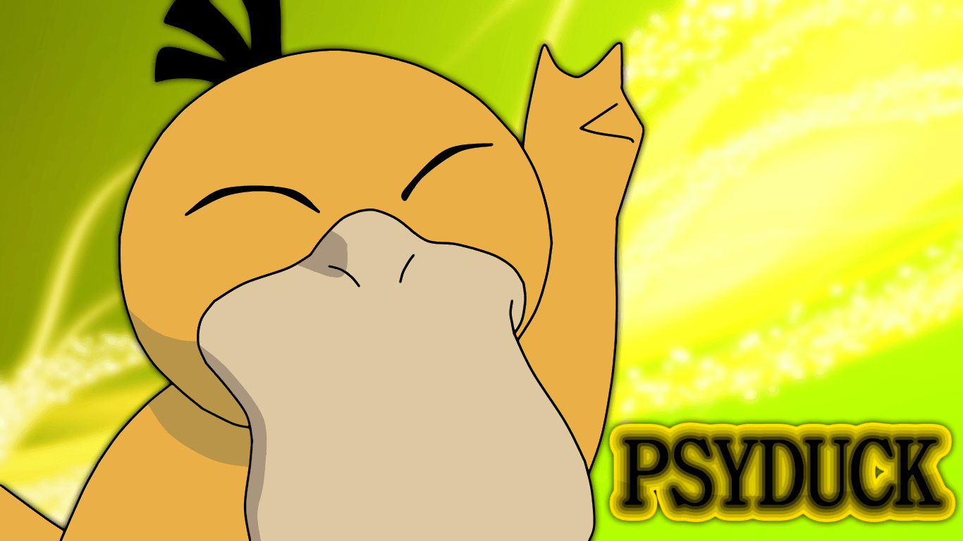 Pokemon Psyduck Wallpaper 1920X1080 | Collection 8+ Wallpapers