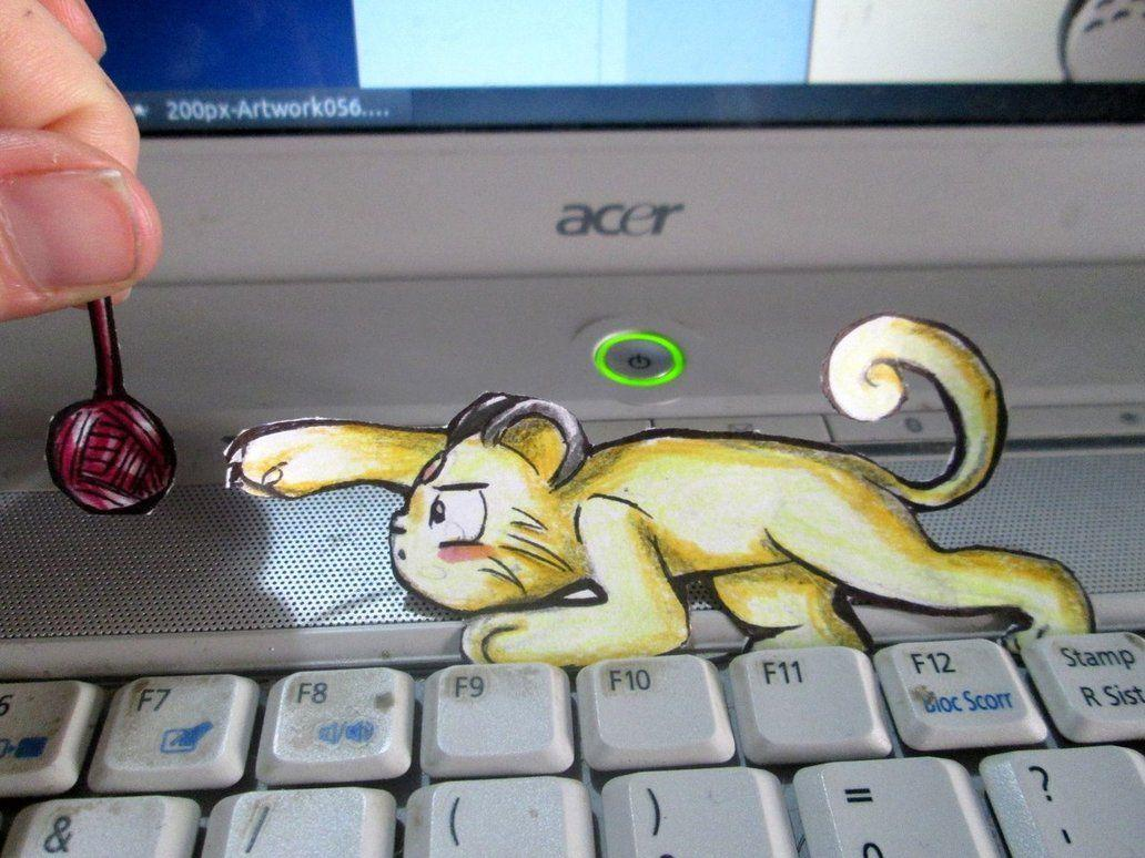 Paperchild 116. Pokemon#53 - Persian by FuriarossaAndMimma on ...