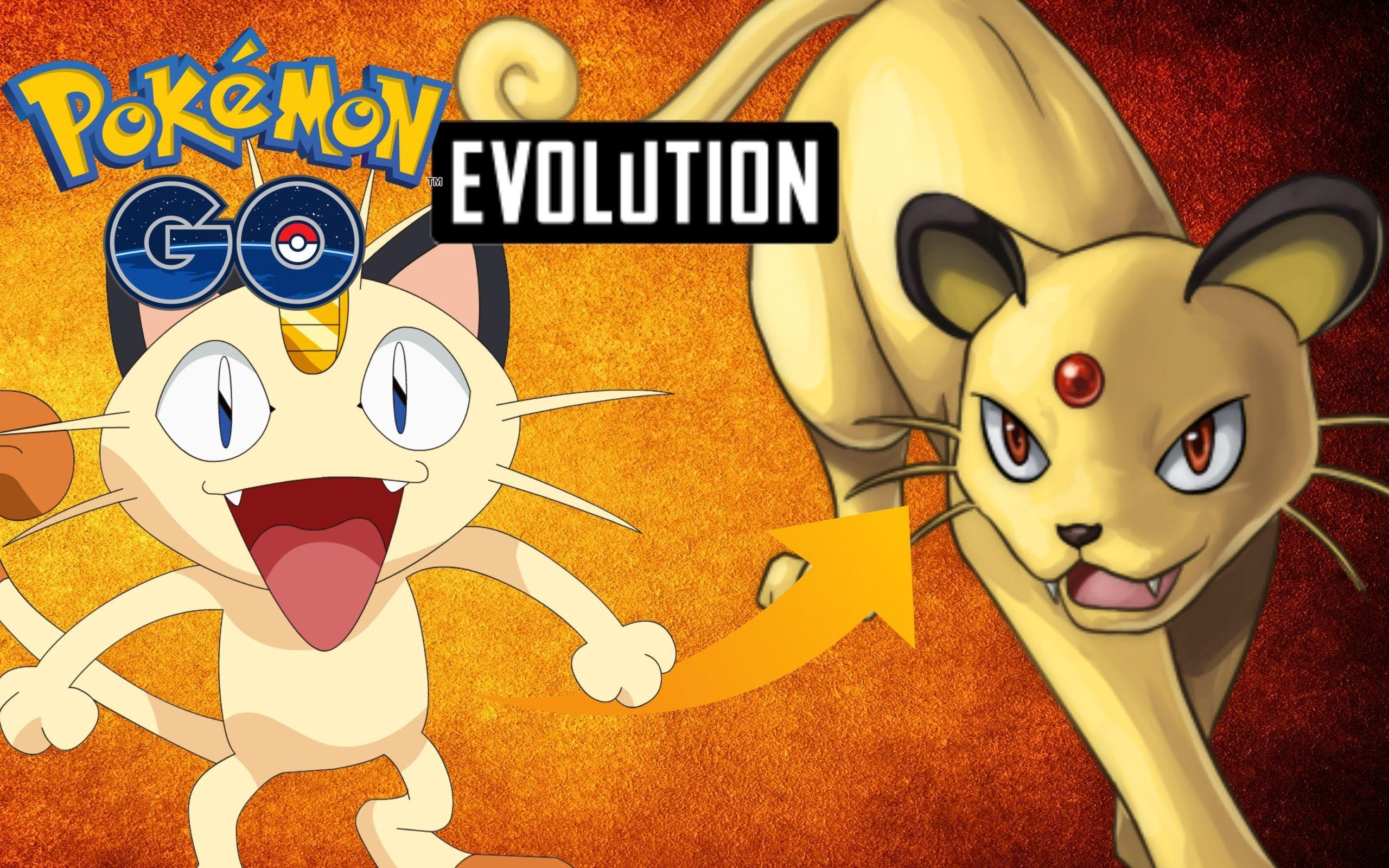 Pokemon Go - Meowth Evolution To Persian - YouTube