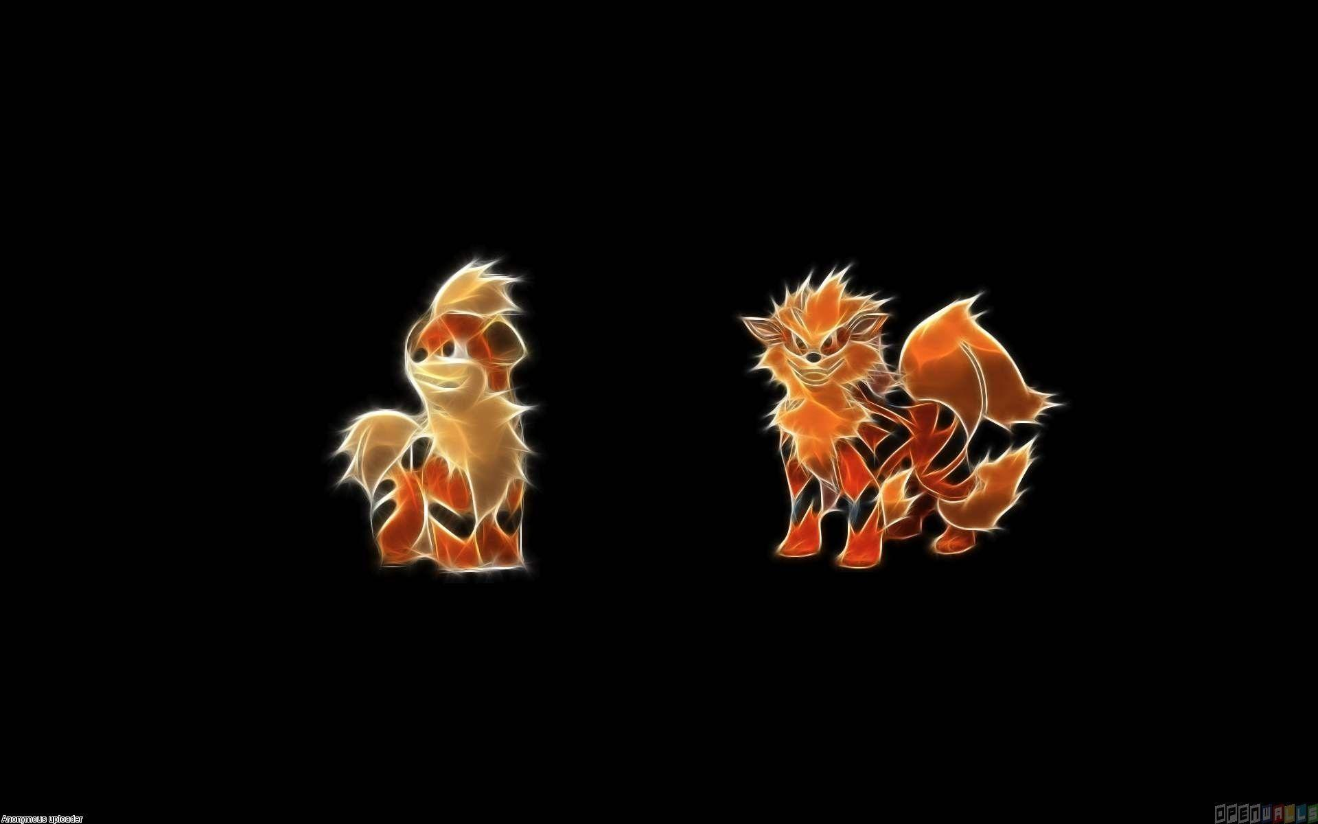 Growlithe and arcanine wallpaper #21236 - Open Walls