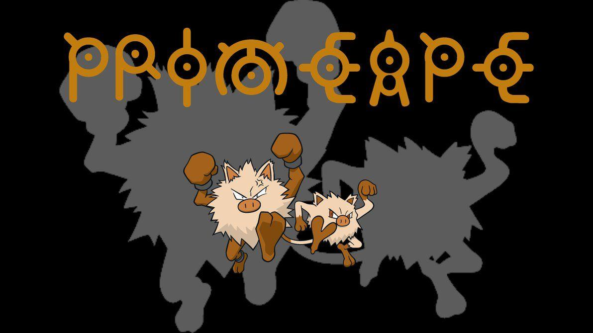 Primeape Backgrounds by JCast639
