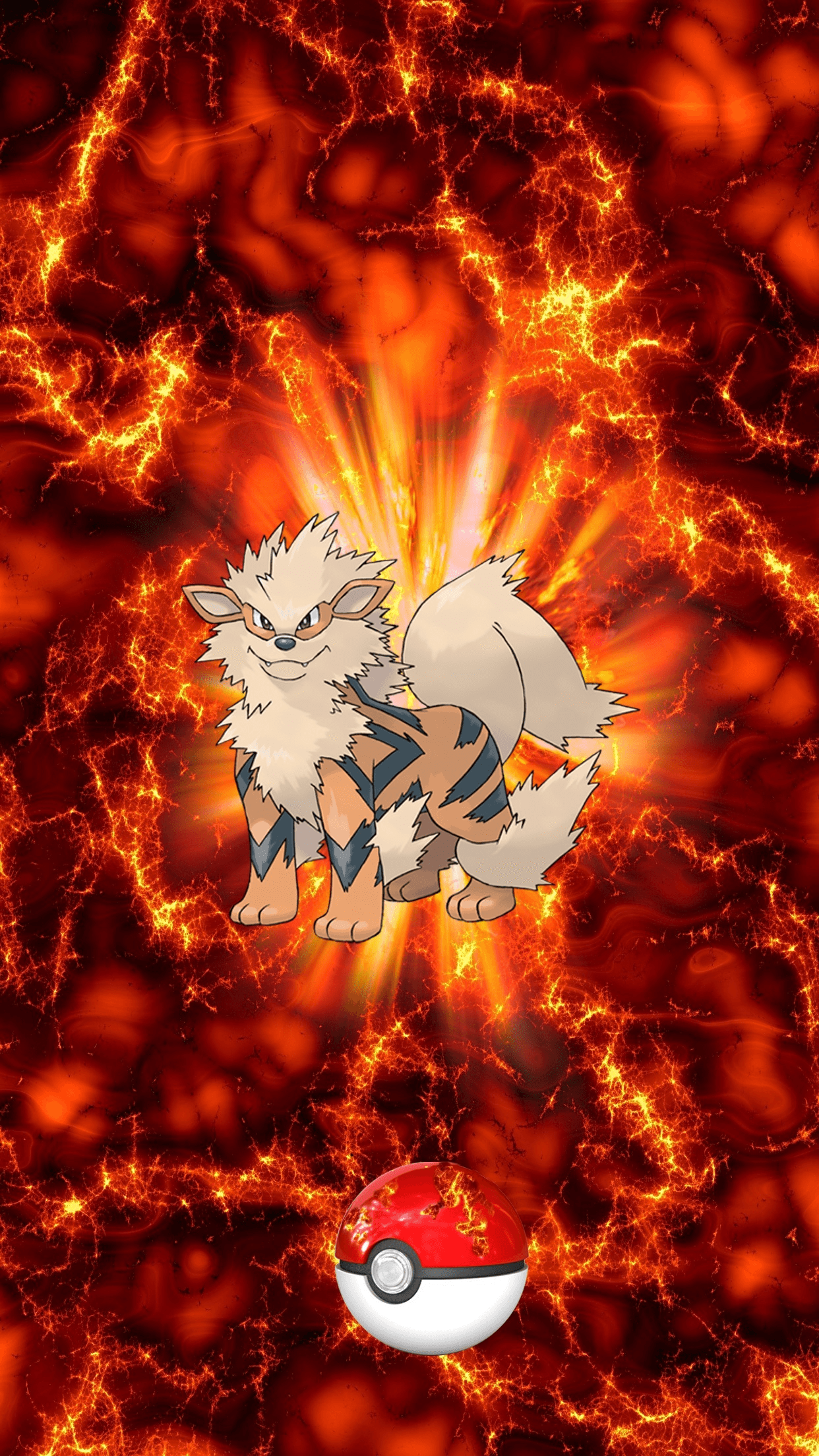 Arcanine hd wallpapers wallpaper cave - Arcanine pics ...