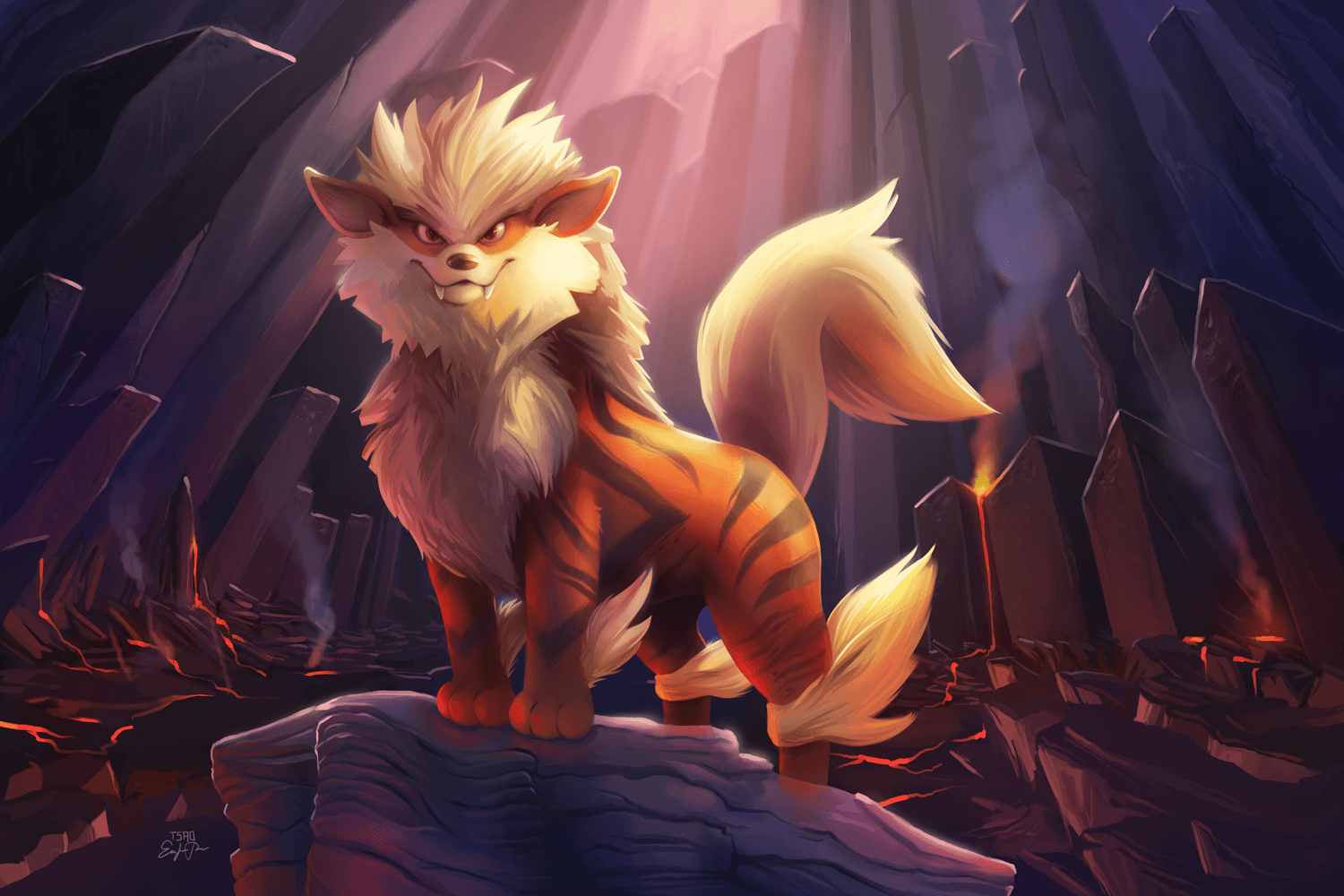 Arcanine Pokemon, HD Artist, 4k Wallpapers, Images, Backgrounds ...
