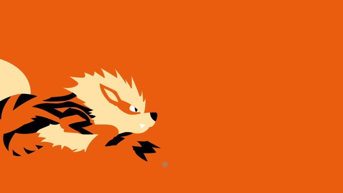 Arcanine Simplism Wallpaper by Stonah on DeviantArt