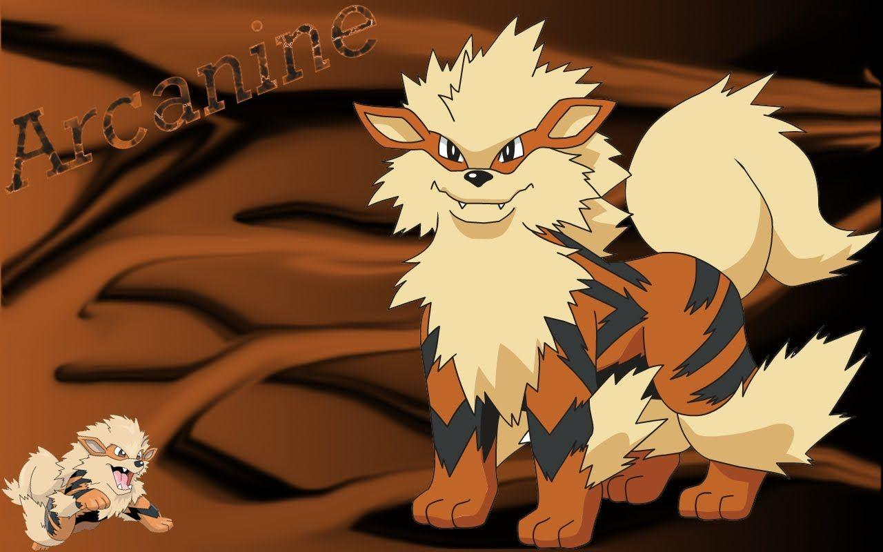 Pokemon Arcanine Wallpaper - WallpaperSafari