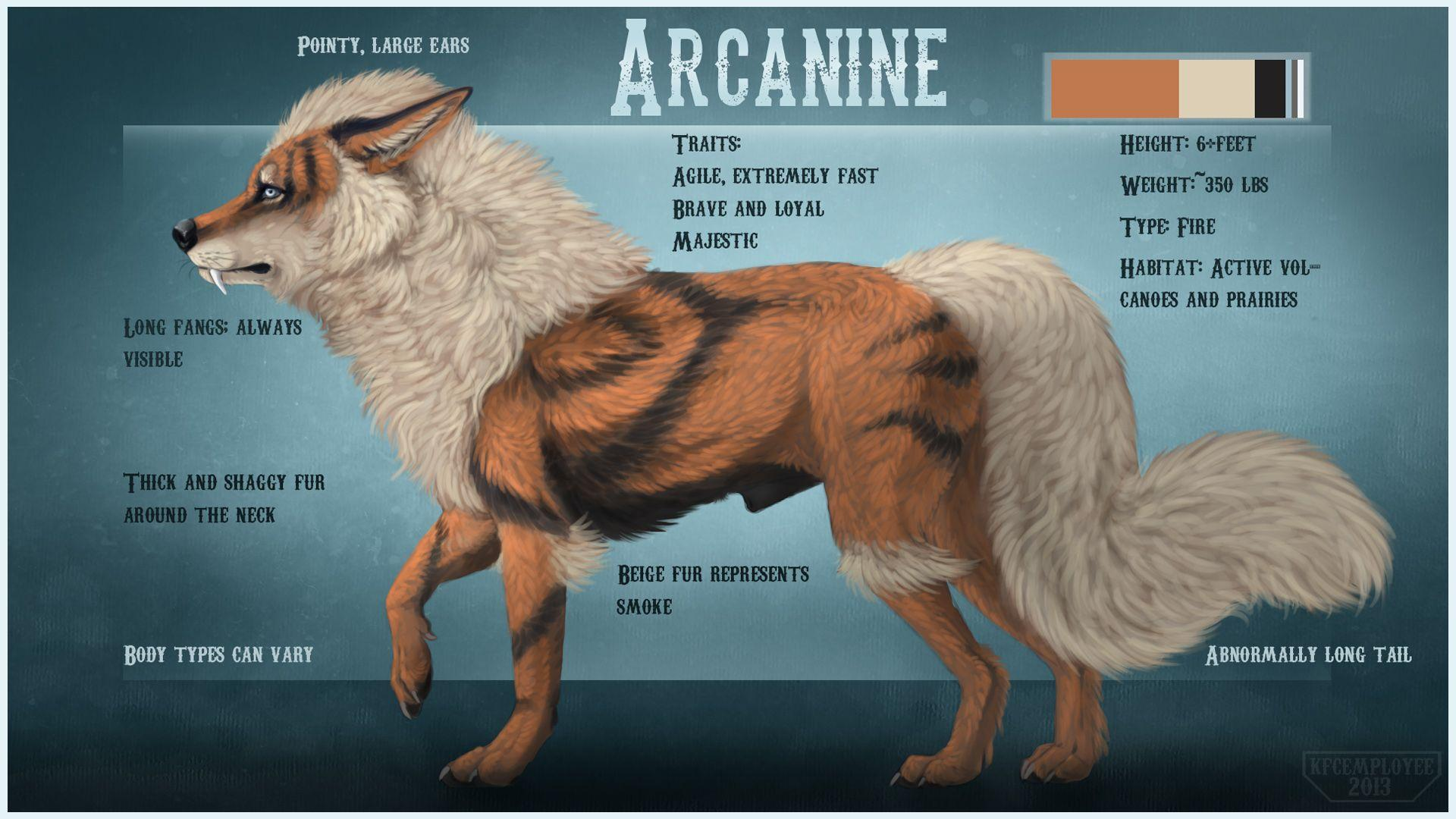 Growlithe And Arcanine Wallpaper, PC Growlithe And Arcanine ...