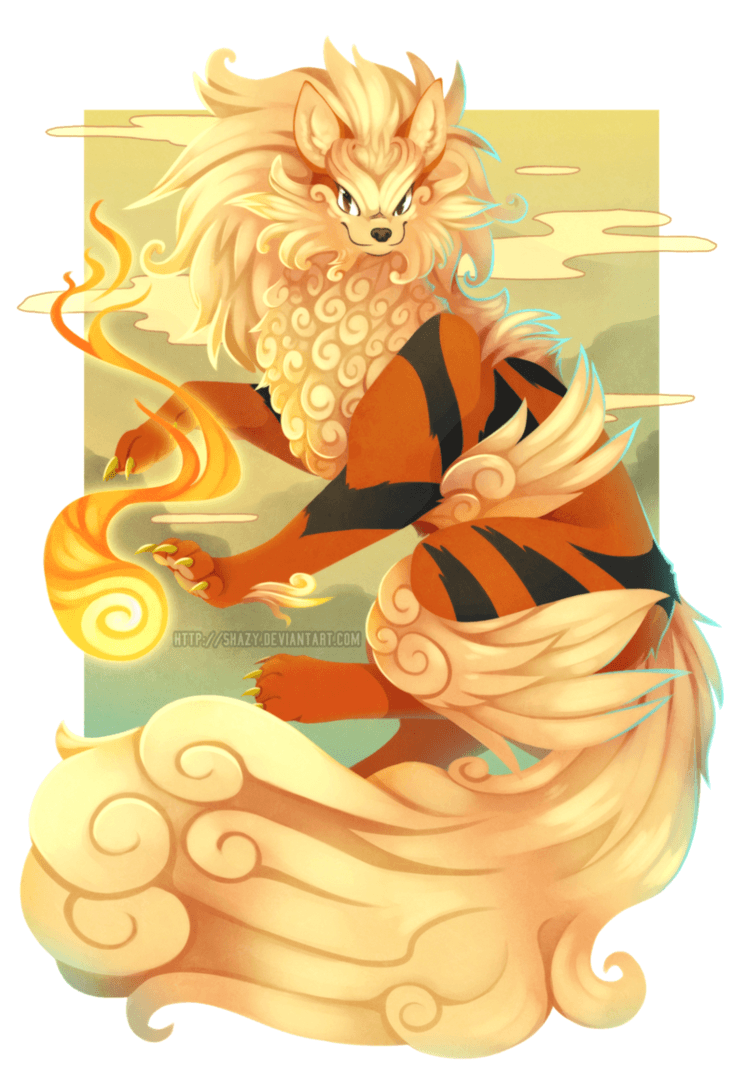 Arcanine- by shazy on DeviantArt