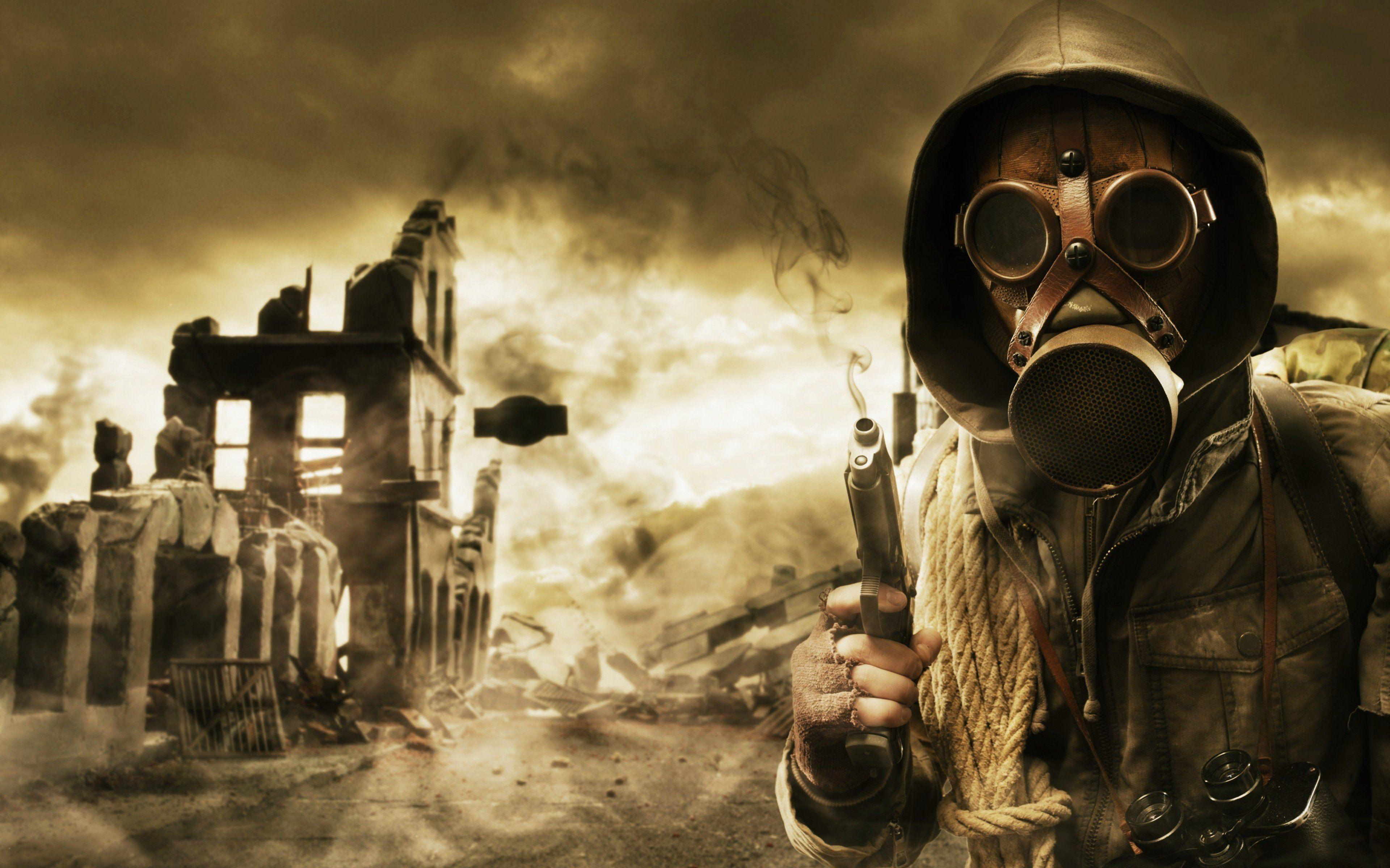Gas Mask Wallpapers - Wallpaper Cave