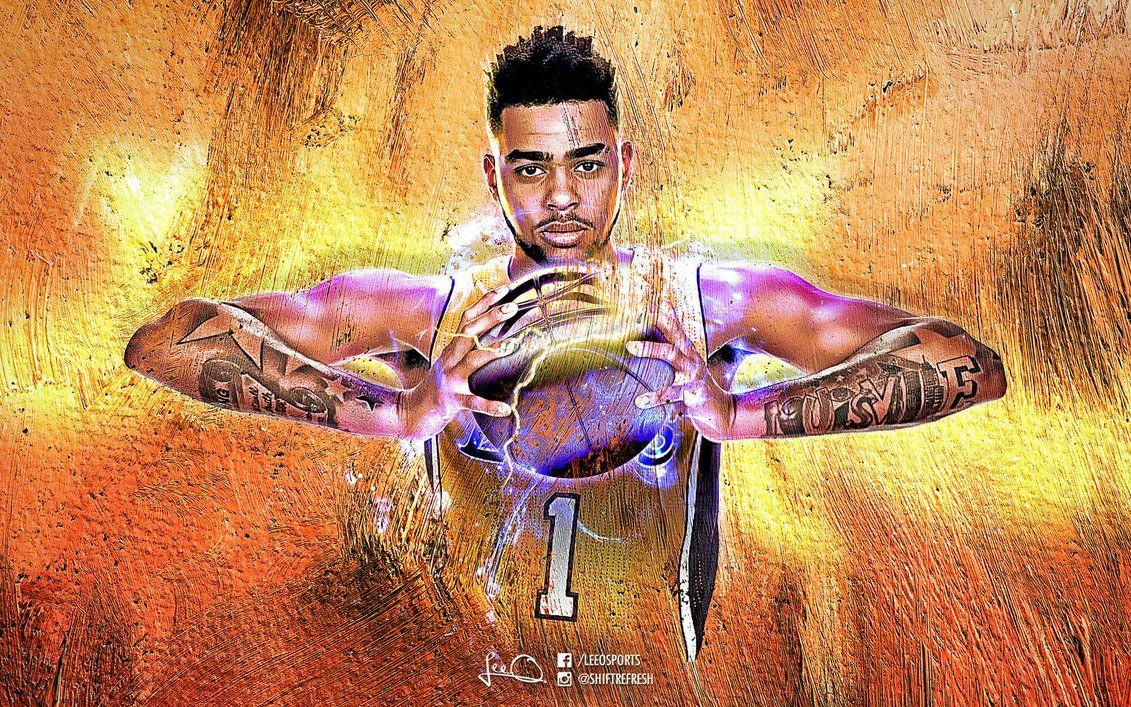 D'Angelo Russell NBA Wallpapers 3.0 by skythlee